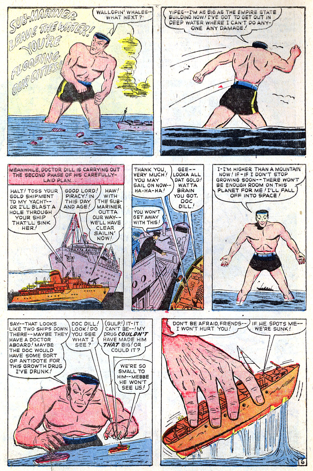 Sub-Mariner Comics #31 #31 - English 7