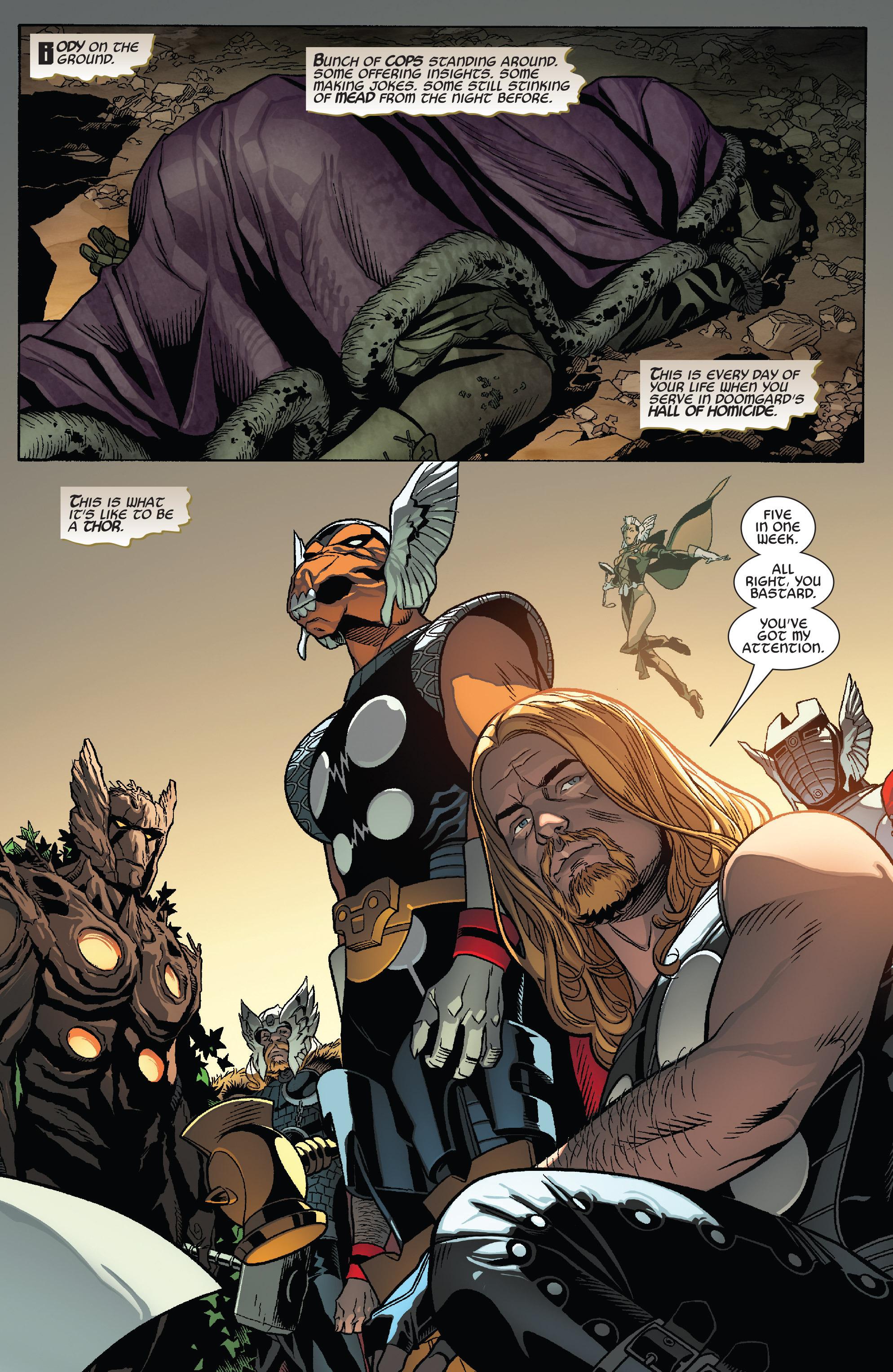 Thors #1 #4 - English 3