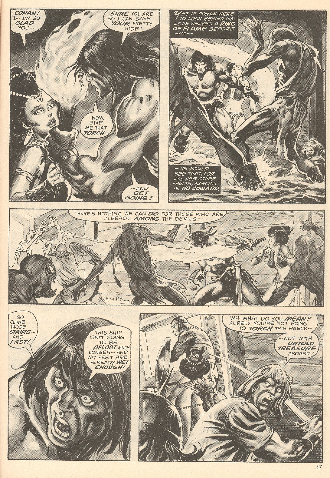 The Savage Sword Of Conan Issue #67 #68 - English 37
