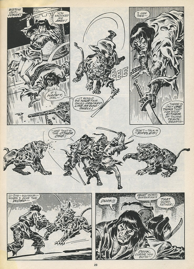 The Savage Sword Of Conan Issue #194 #195 - English 25