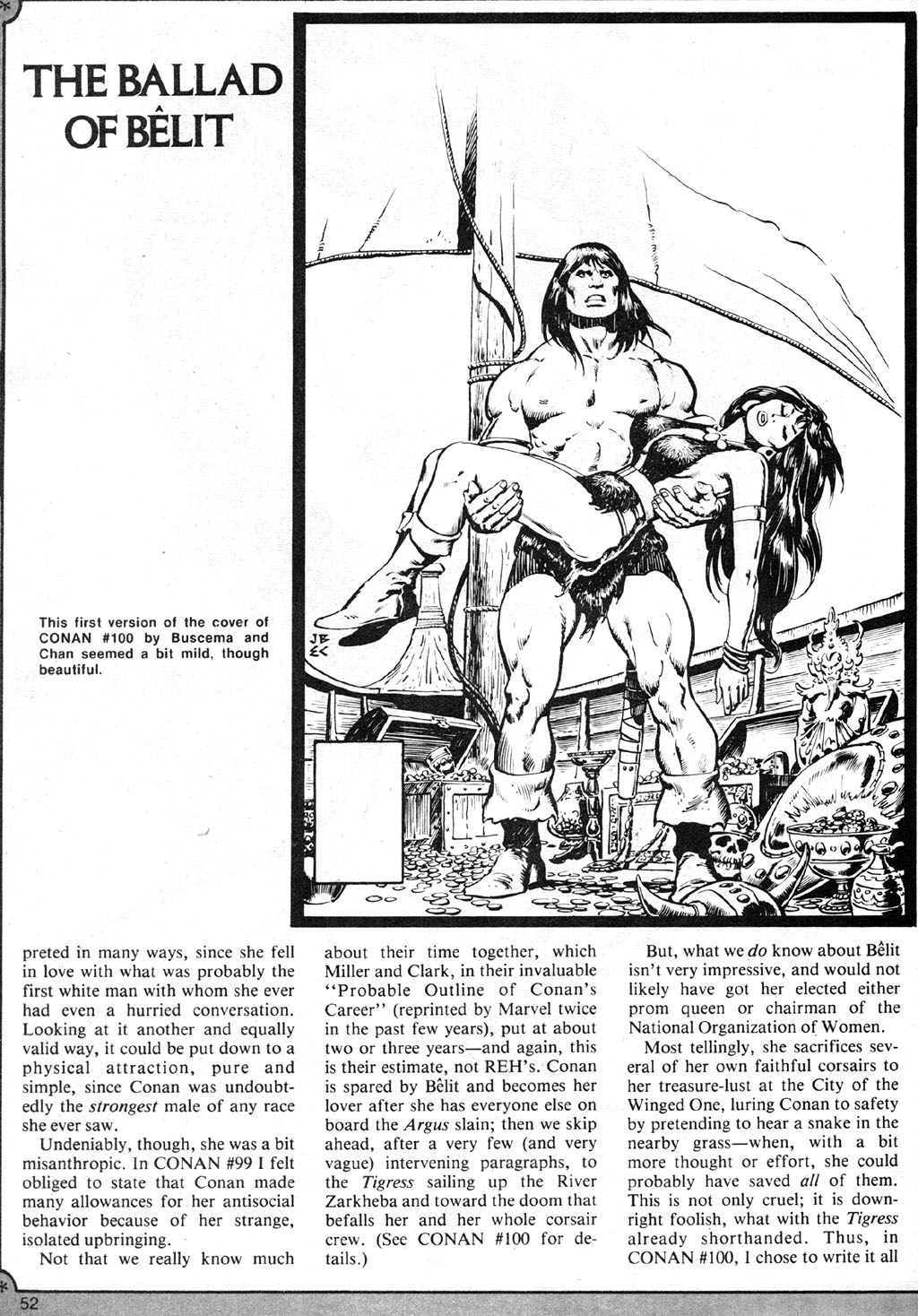 The Savage Sword Of Conan Issue #41 #42 - English 52