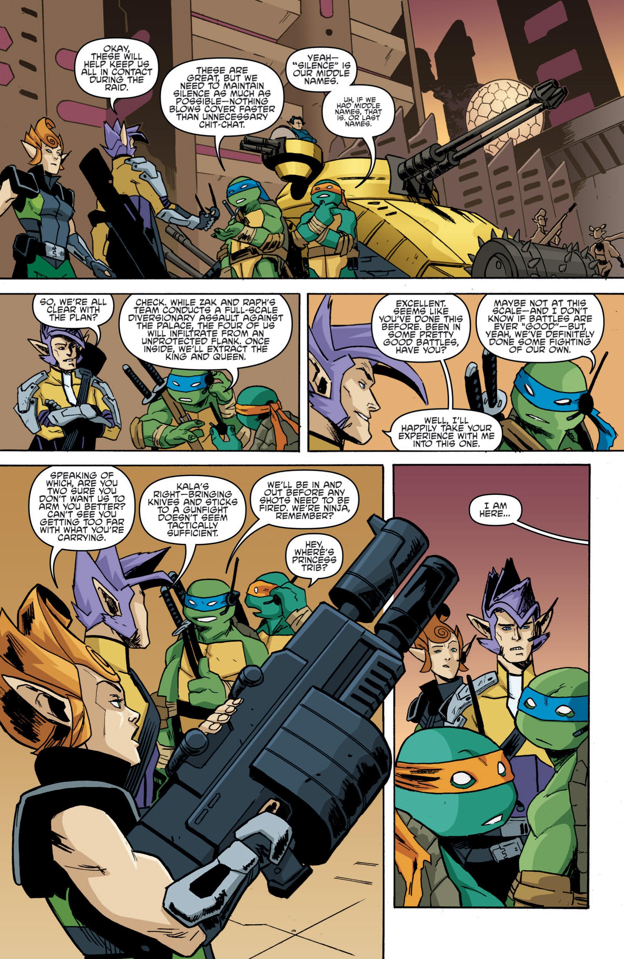 Read online Teenage Mutant Ninja Turtles (2011) comic -  Issue #19 - 16