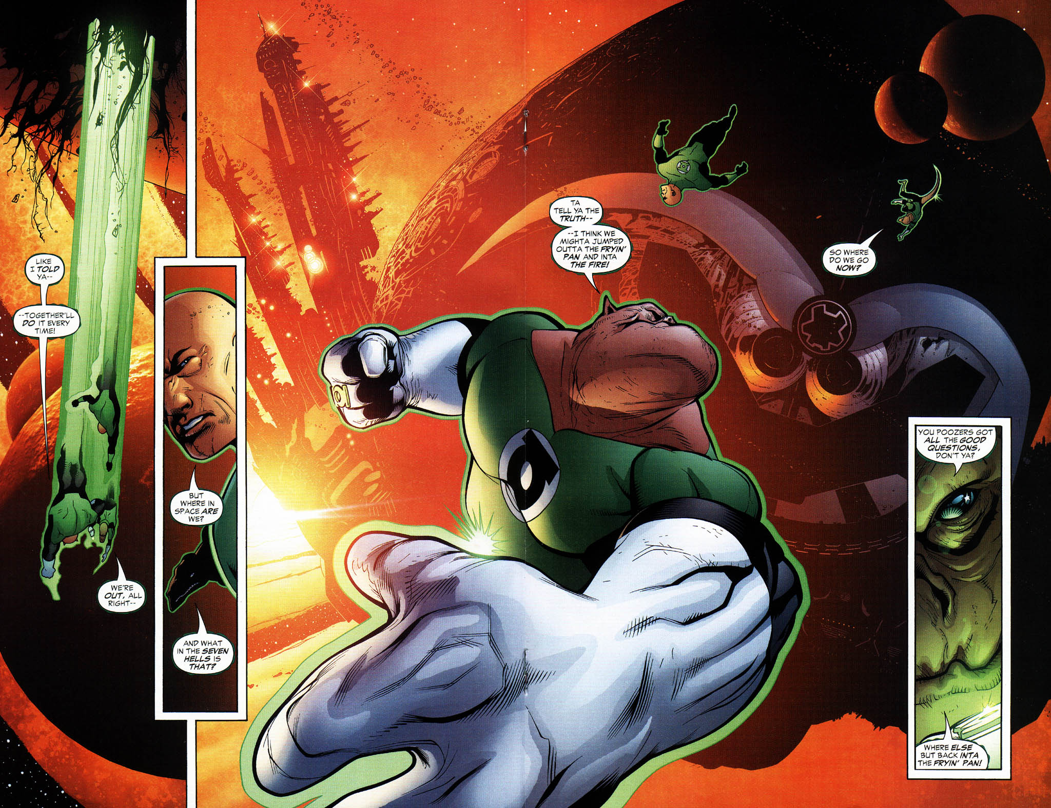 Read online Green Lantern Corps: Recharge comic -  Issue #3 - 12