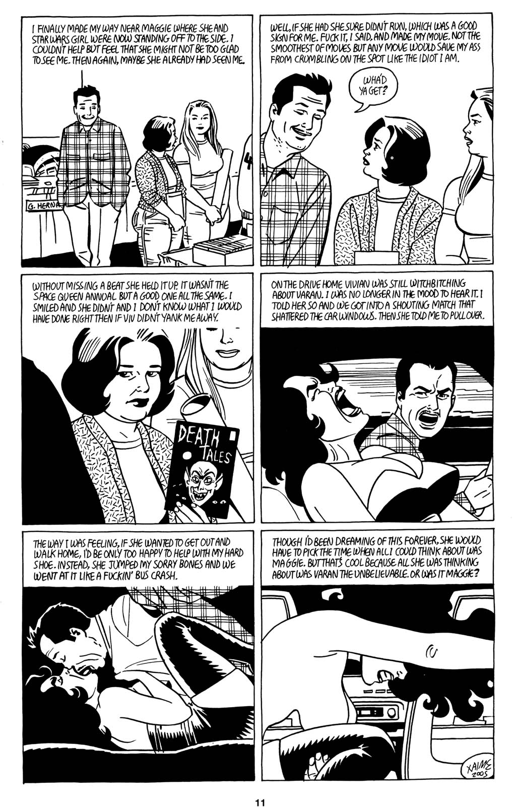 Read online Love and Rockets (2001) comic -  Issue #15 - 13