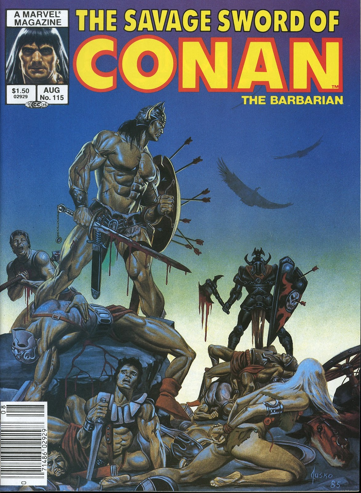 The Savage Sword Of Conan Issue #115 #116 - English 1