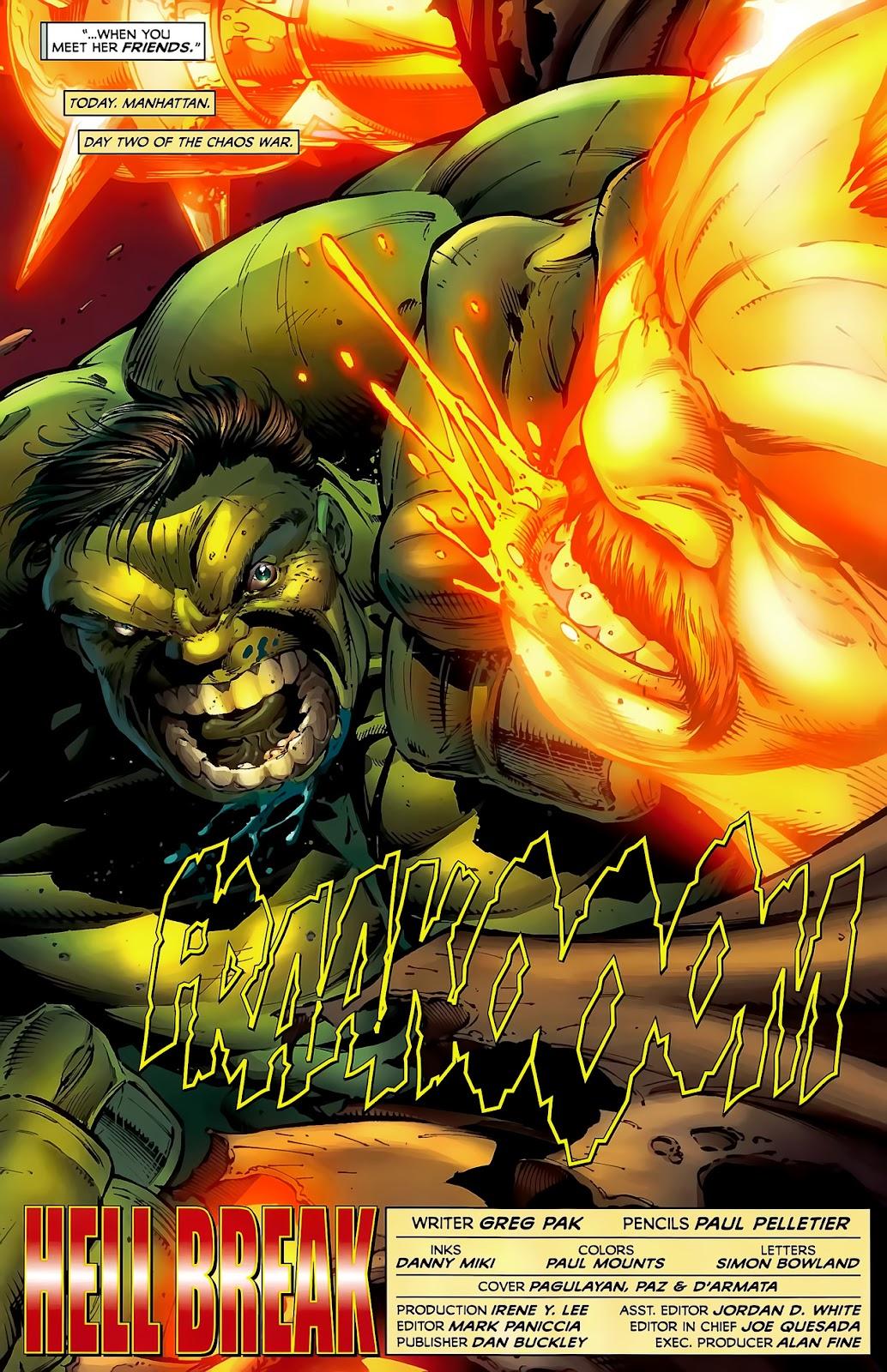 Incredible Hulks (2010) Issue #619 #9 - English 6