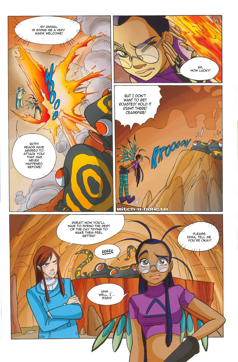 Read online W.i.t.c.h. comic -  Issue #135 - 15