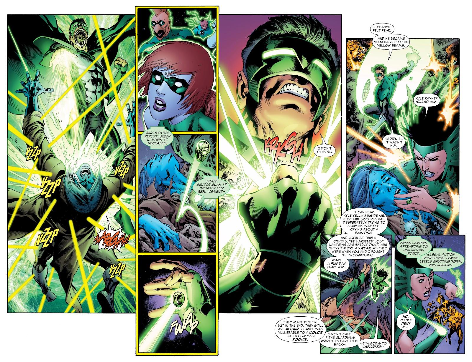 Green Lantern: The Sinestro Corps War Full #1 - English 106