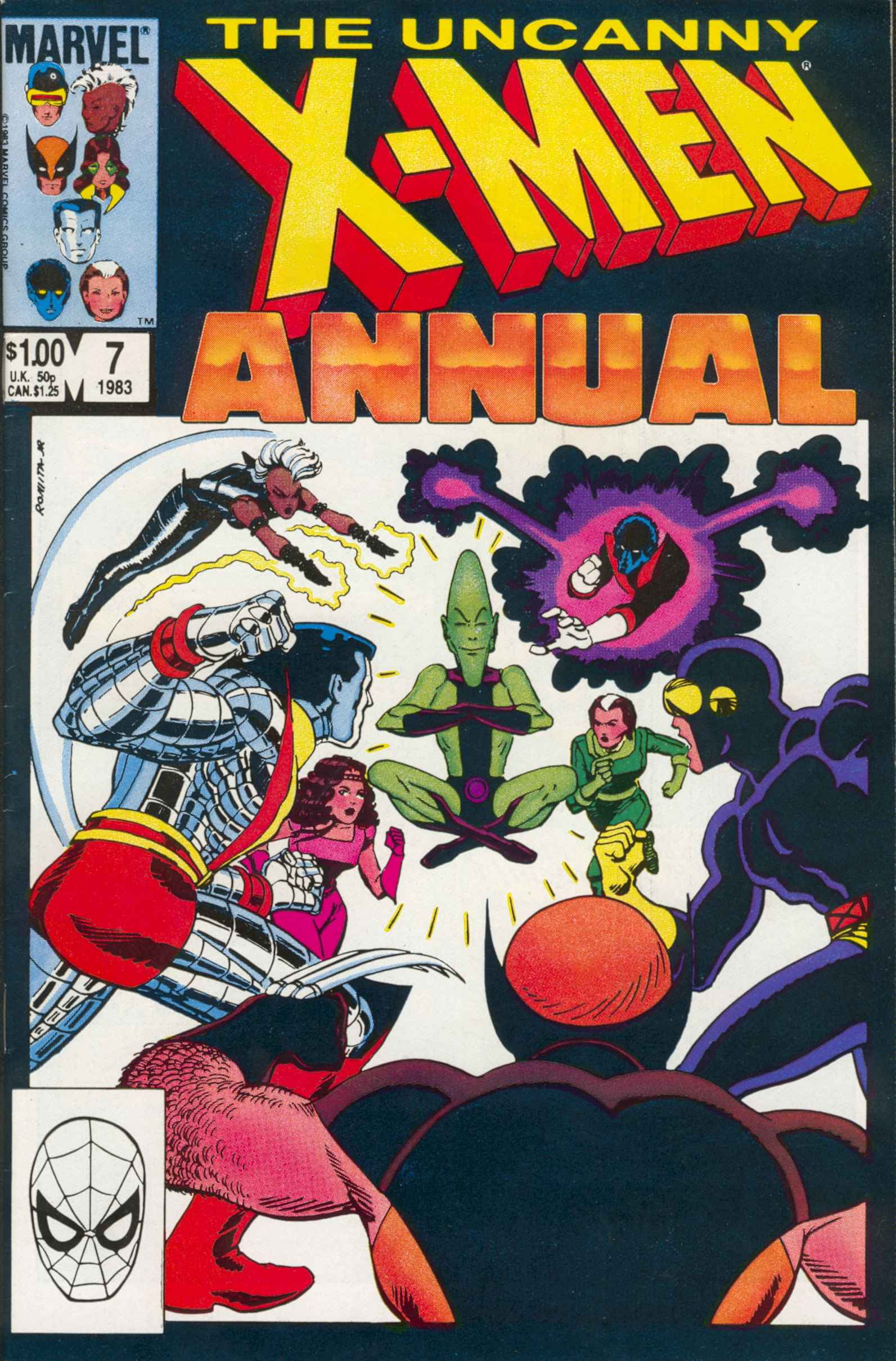 X-Men Annual 7 Page 1