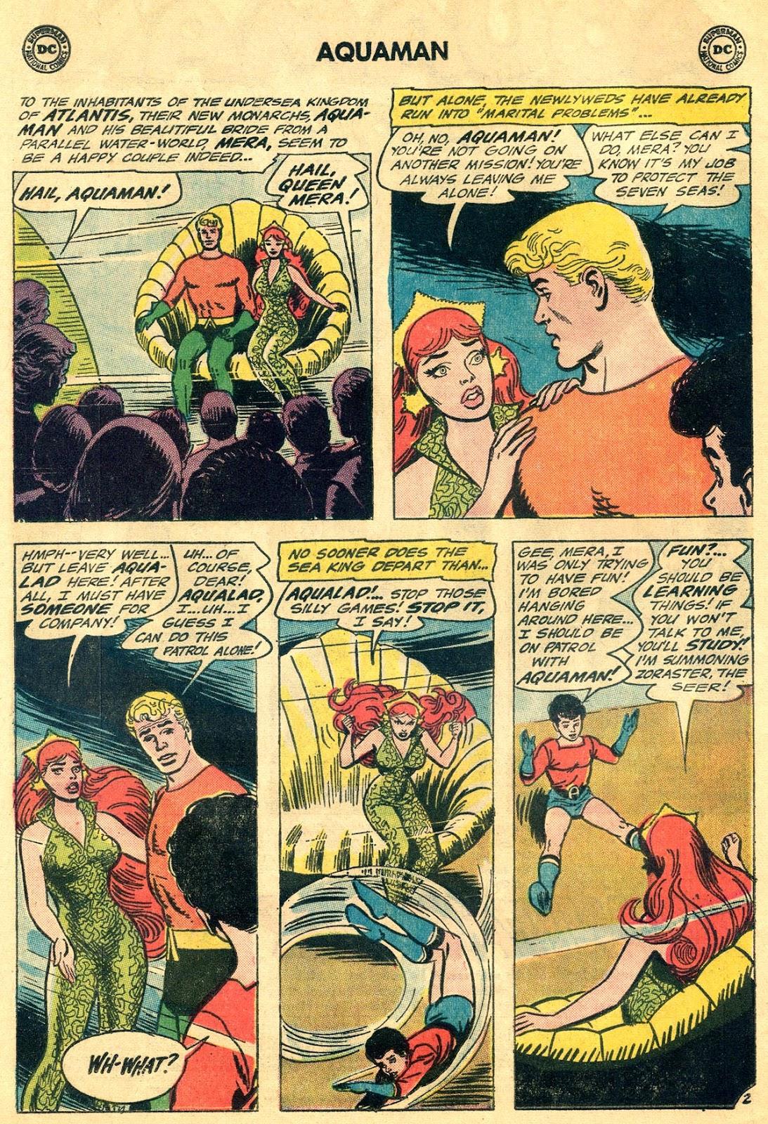 Aquaman (1962) Issue #19 #19 - English 4
