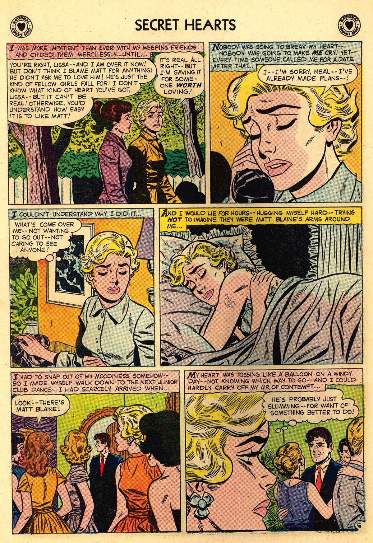 Read online Secret Hearts comic -  Issue #56 - 14