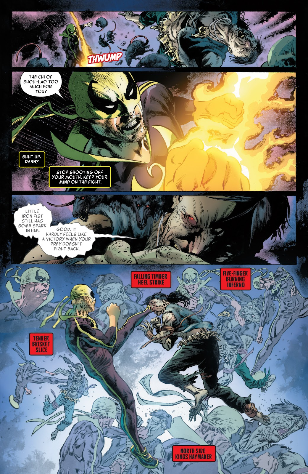 Iron Fist (2017) Issue #3 #3 - English 5