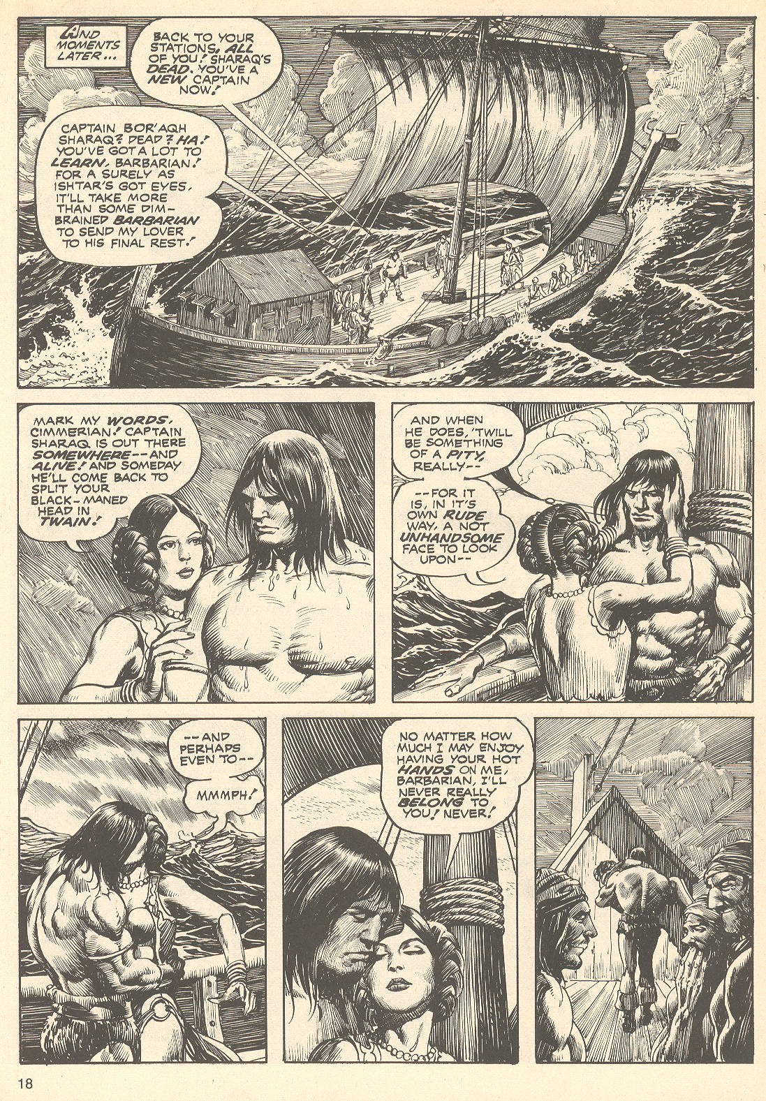 The Savage Sword Of Conan Issue #75 #76 - English 18