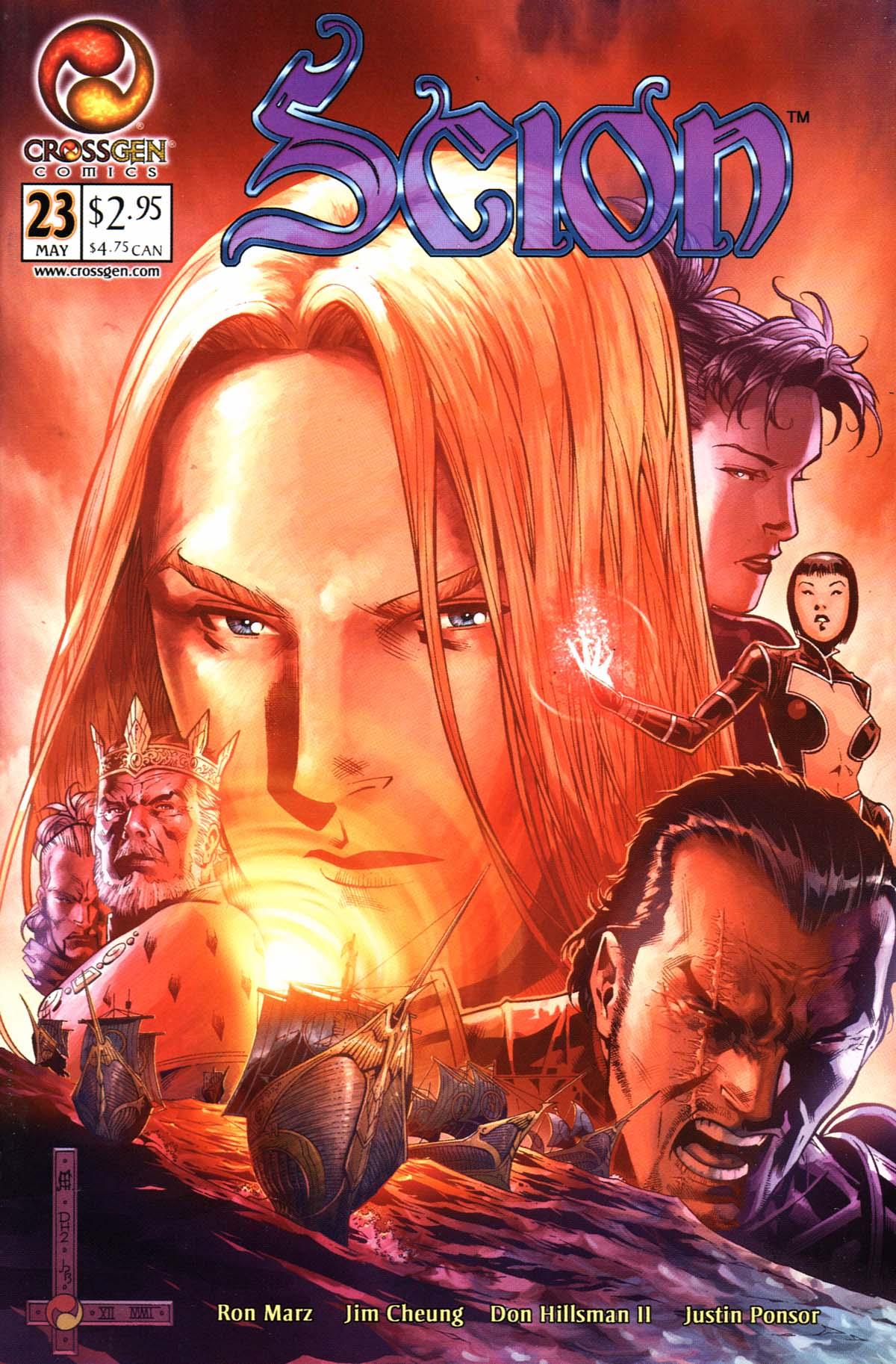 Read online Scion comic -  Issue #23 - 1