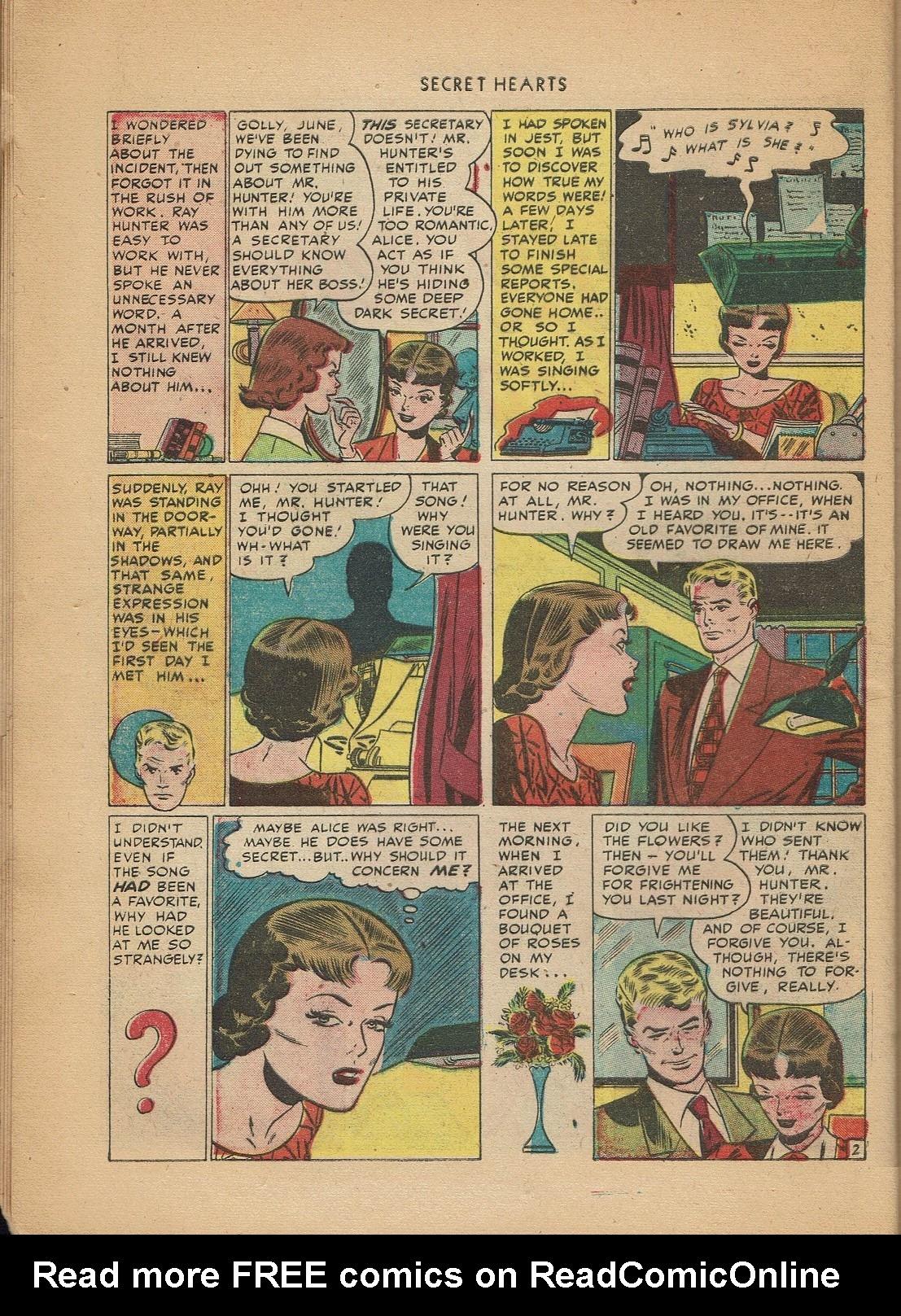 Read online Secret Hearts comic -  Issue #2 - 12