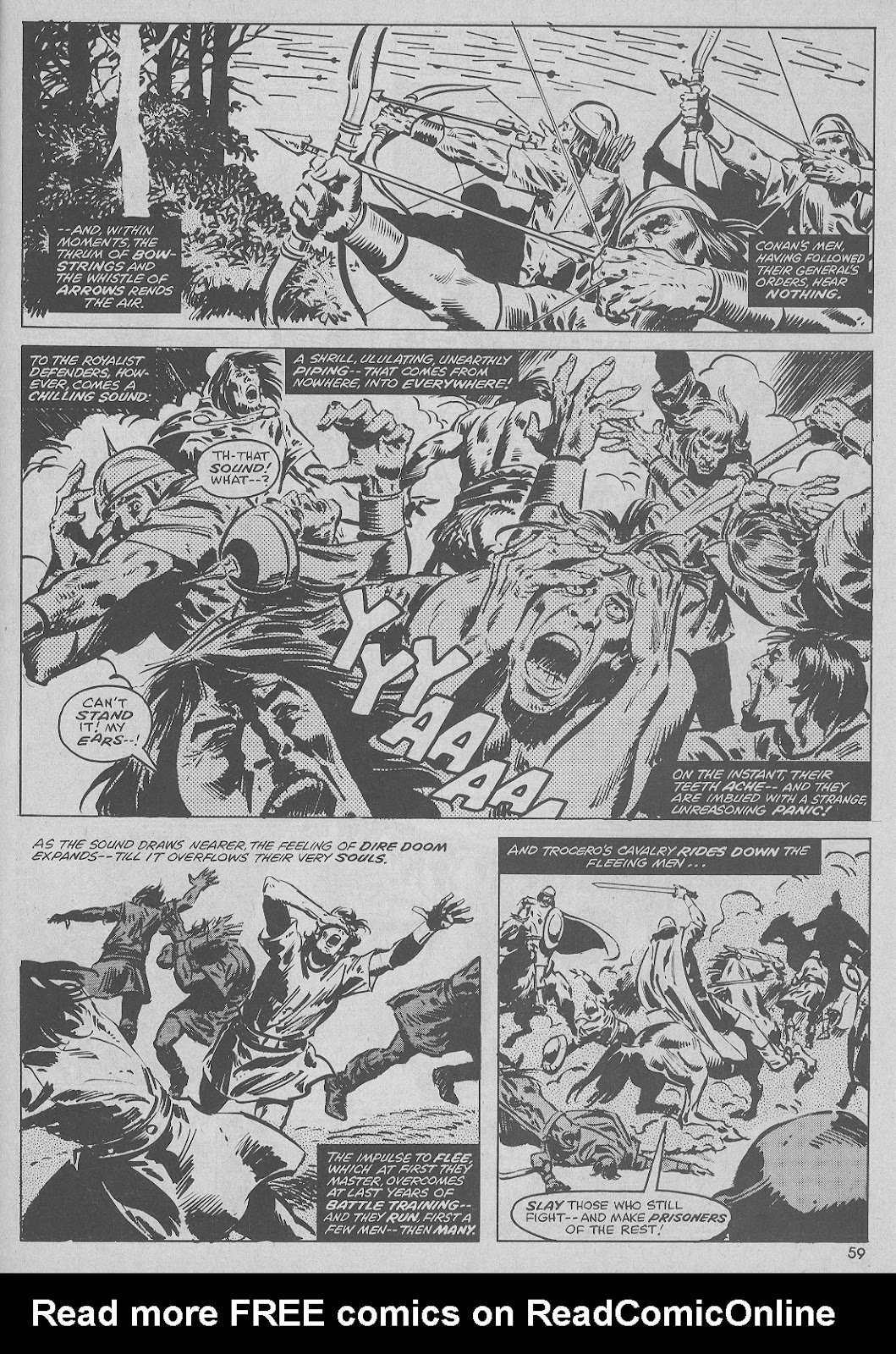 The Savage Sword Of Conan Issue #51 #52 - English 59