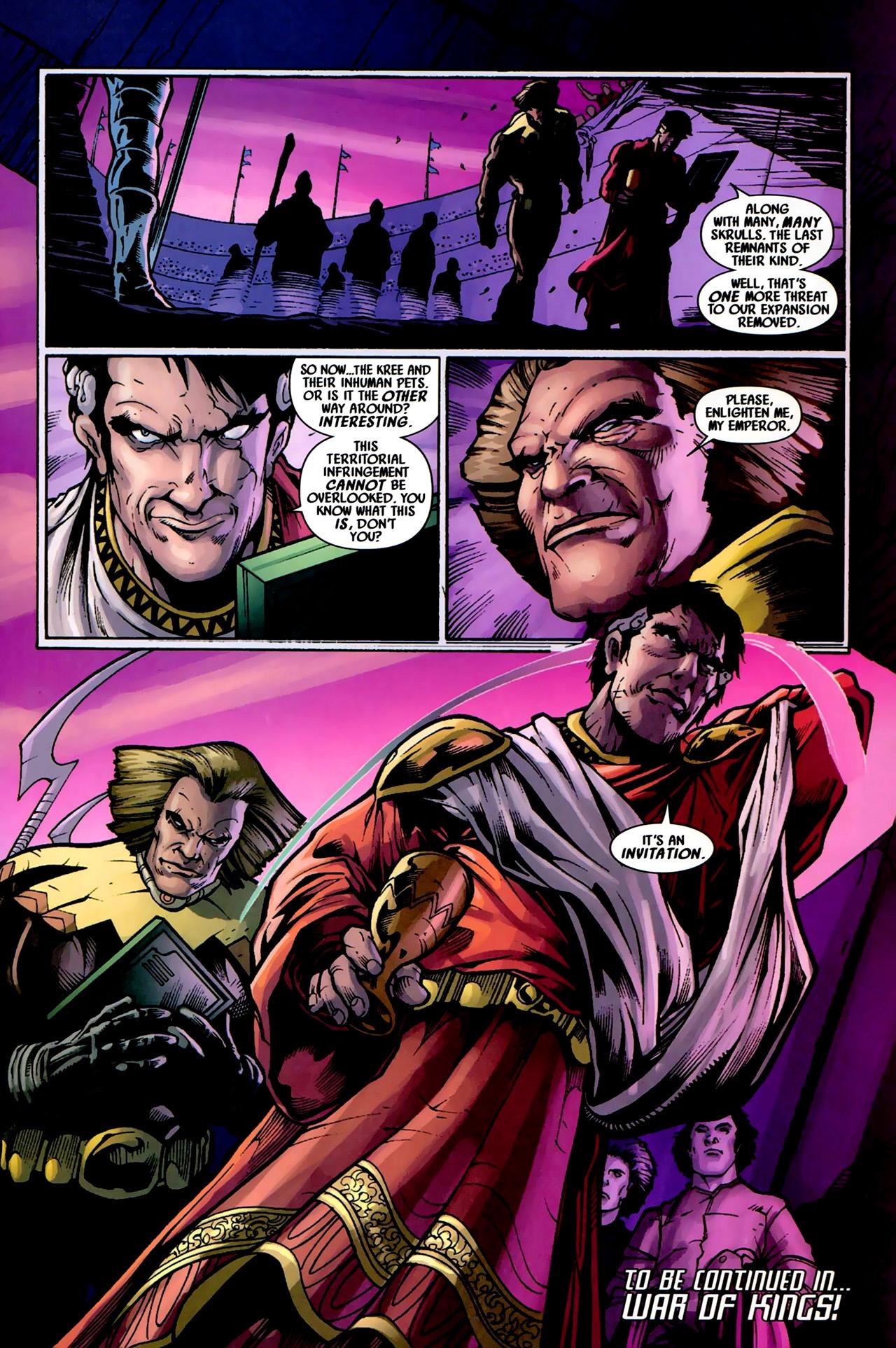 Read online Secret Invasion: War of Kings comic -  Issue # Full - 39