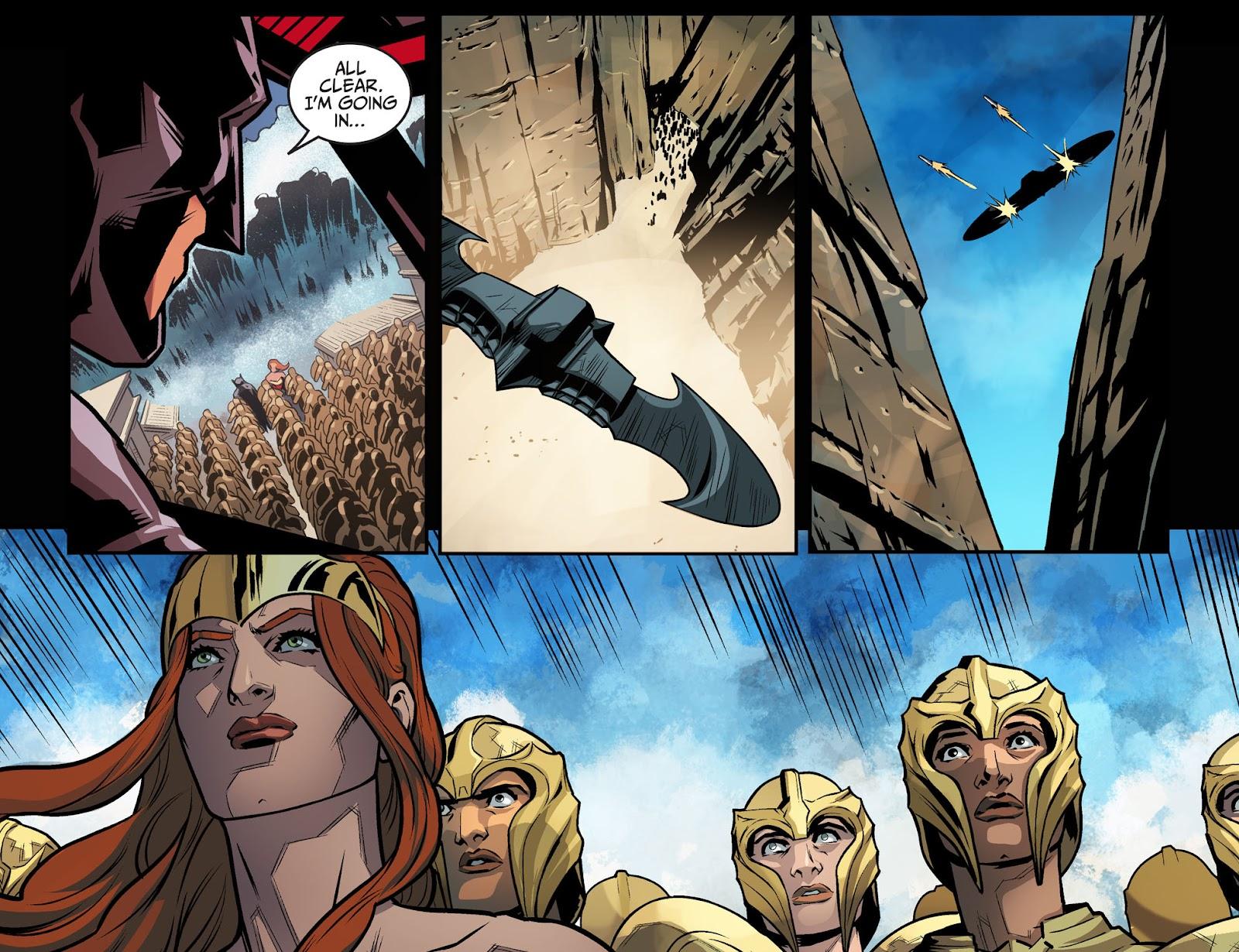 Injustice: Gods Among Us Year Four Issue #20 #21 - English 9