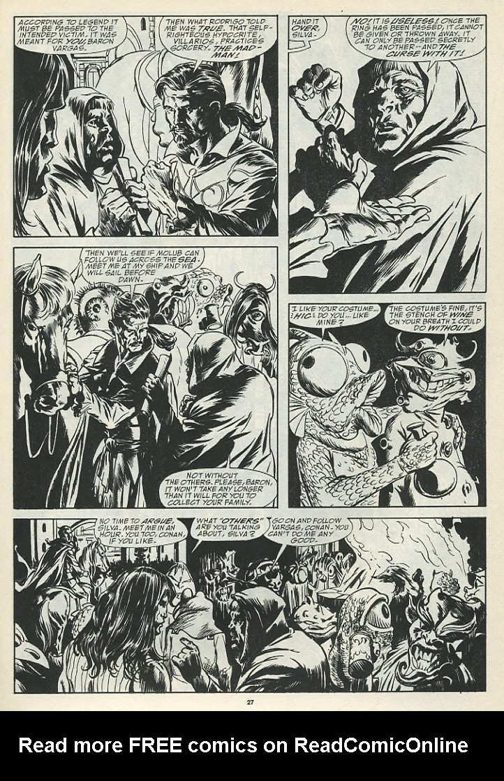 The Savage Sword Of Conan Issue #185 #186 - English 29
