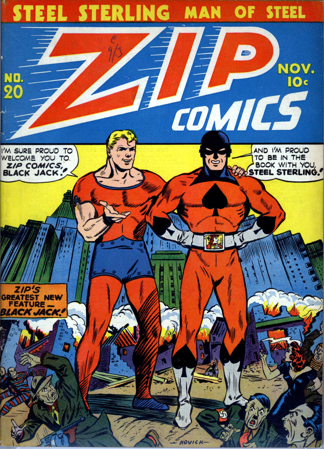 Zip Comics 20 Page 1