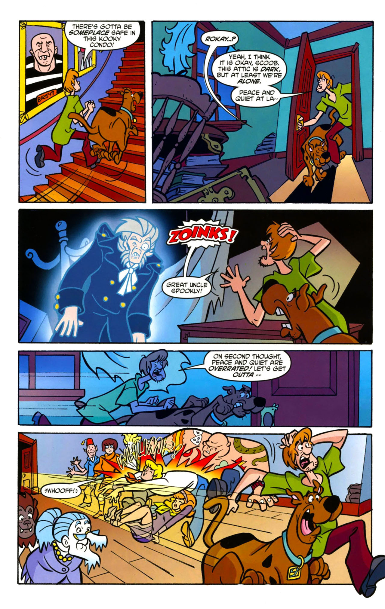 Read online Scooby-Doo: Where Are You? comic -  Issue #13 - 7