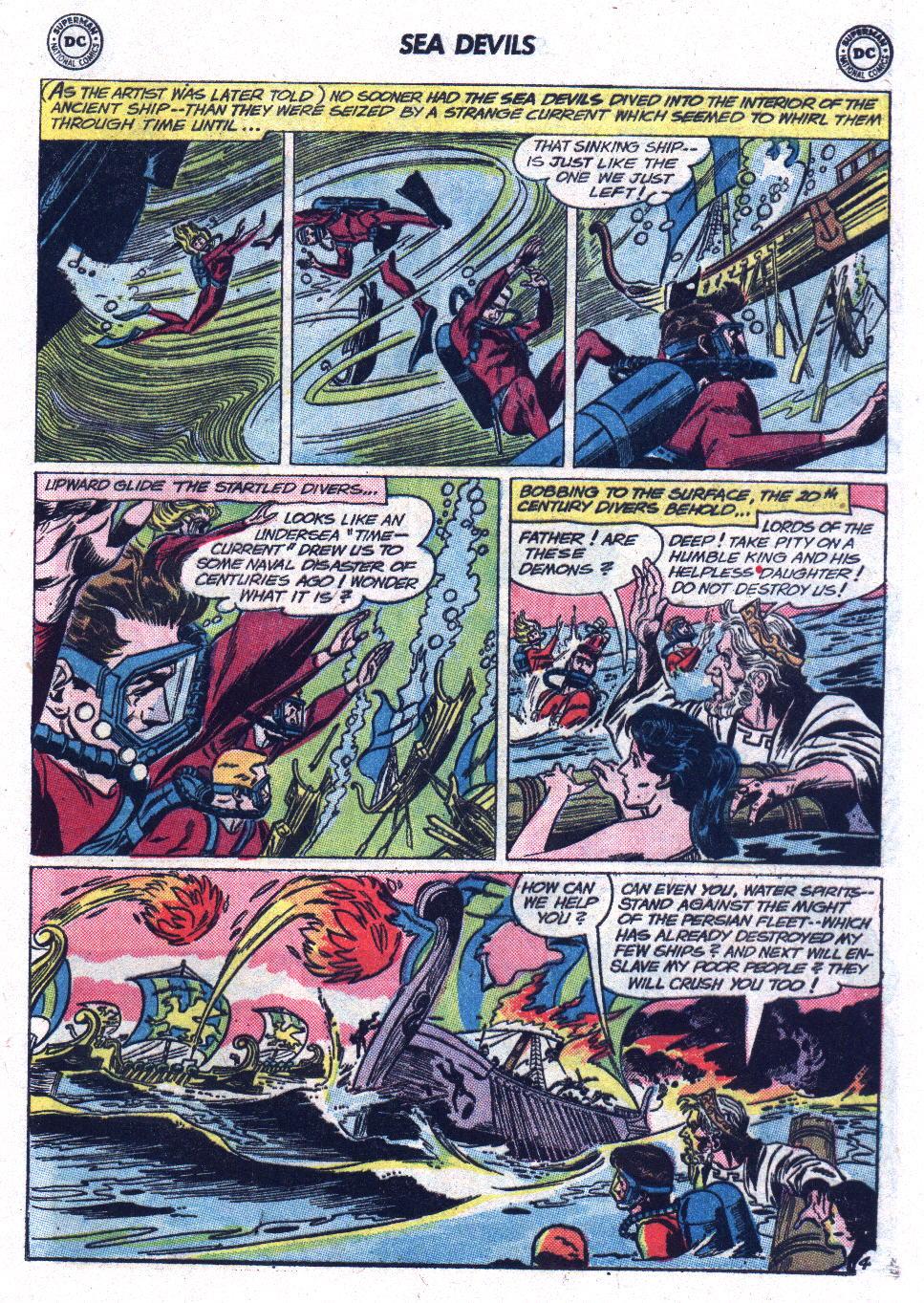 Read online Sea Devils comic -  Issue #13 - 17