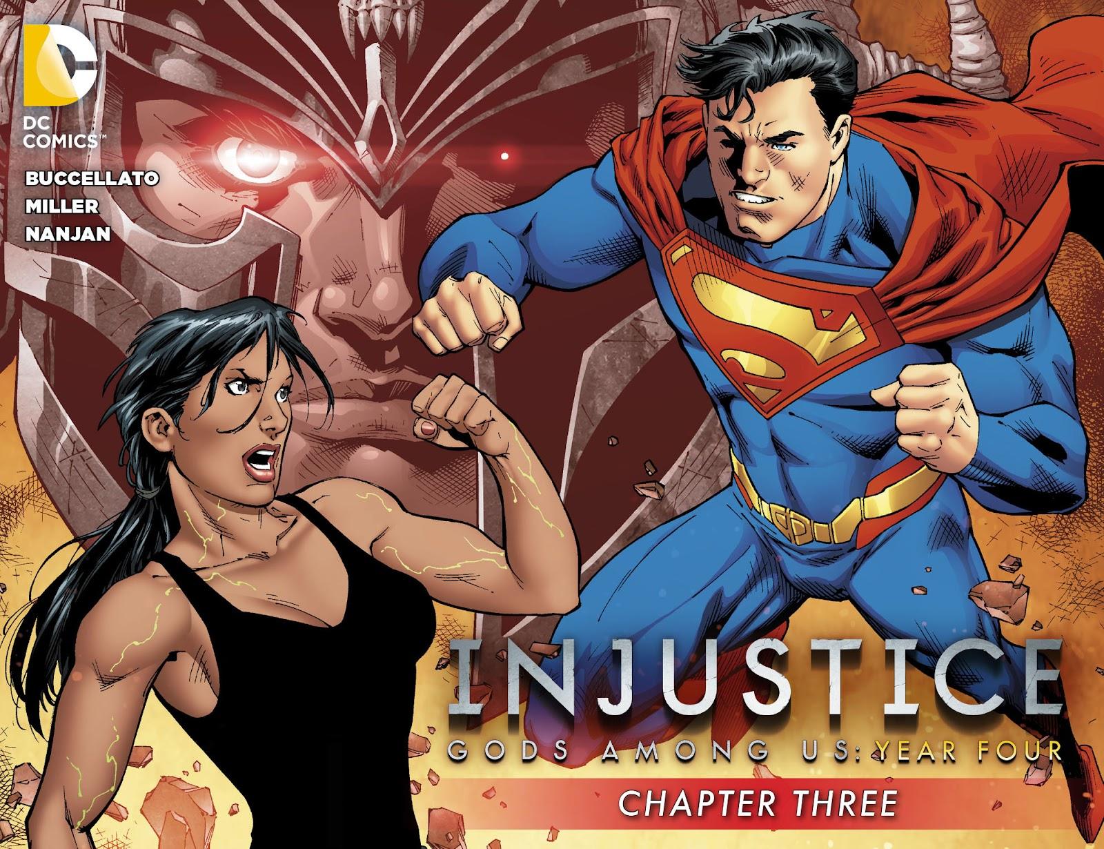 Injustice: Gods Among Us Year Four Issue #3 #4 - English 1
