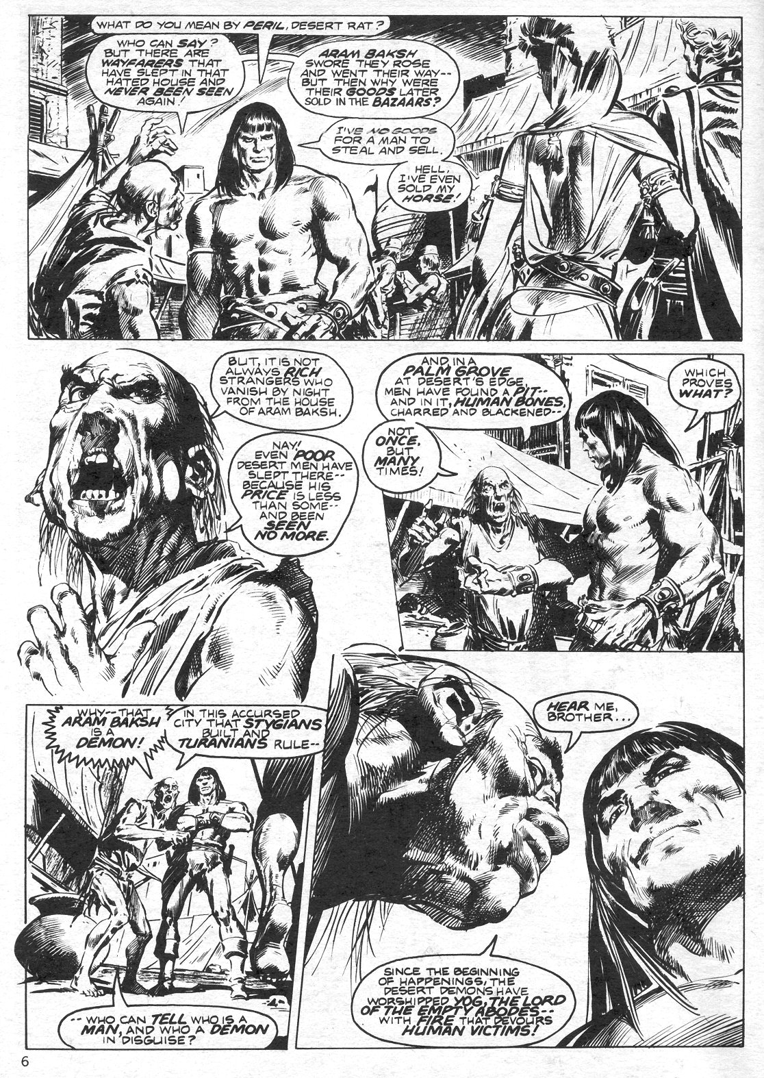 The Savage Sword Of Conan Issue #14 #15 - English 6