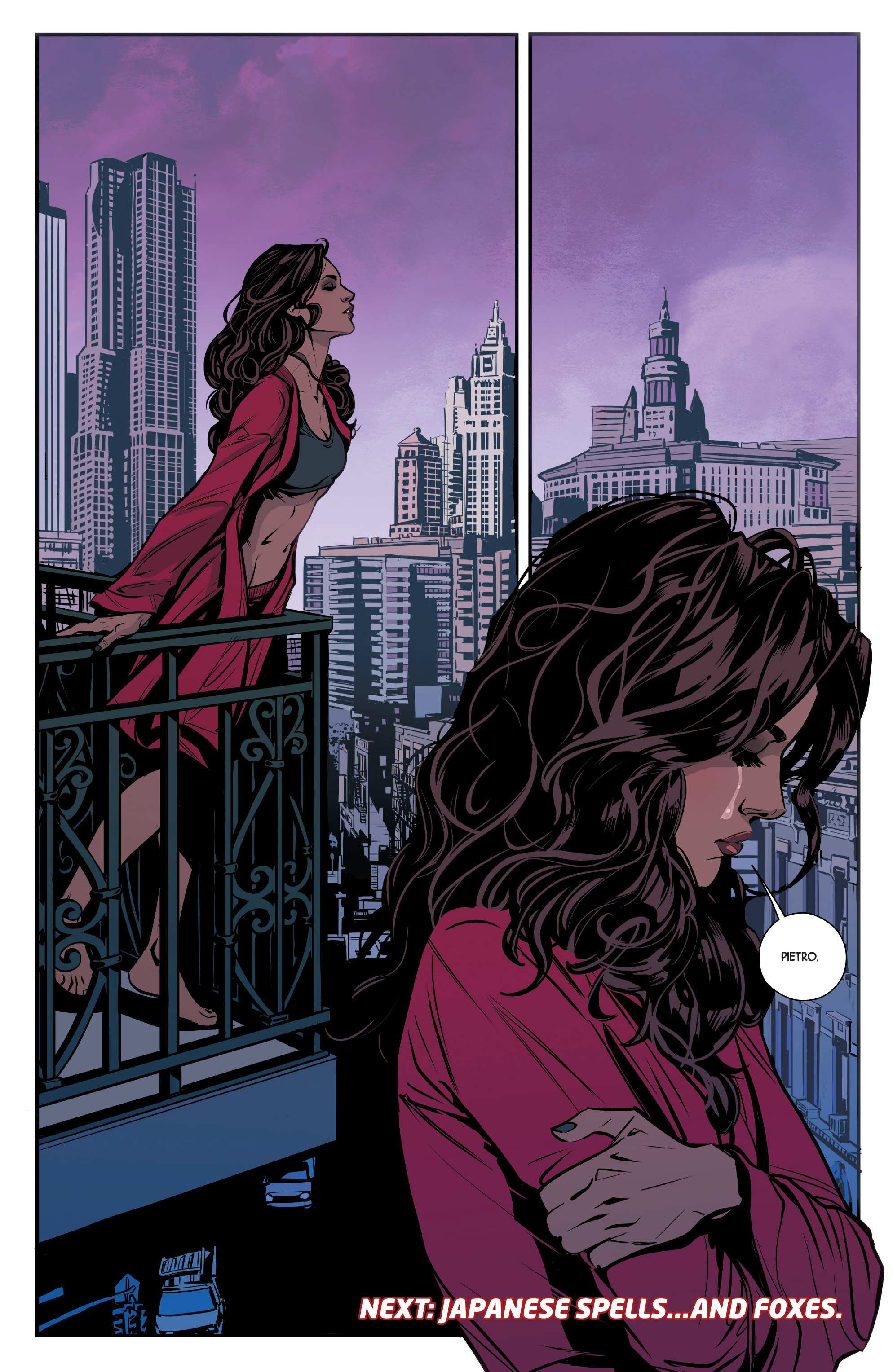 Read online Scarlet Witch (2016) comic -  Issue #9 - 21