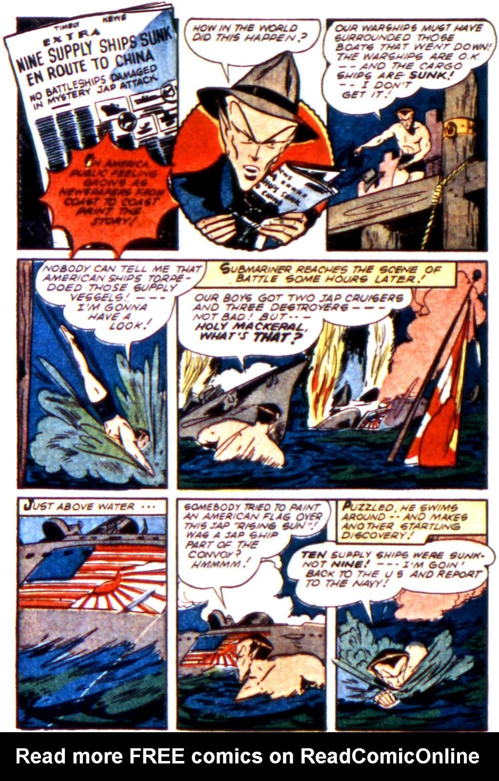 Sub-Mariner Comics Issue #11 #11 - English 4