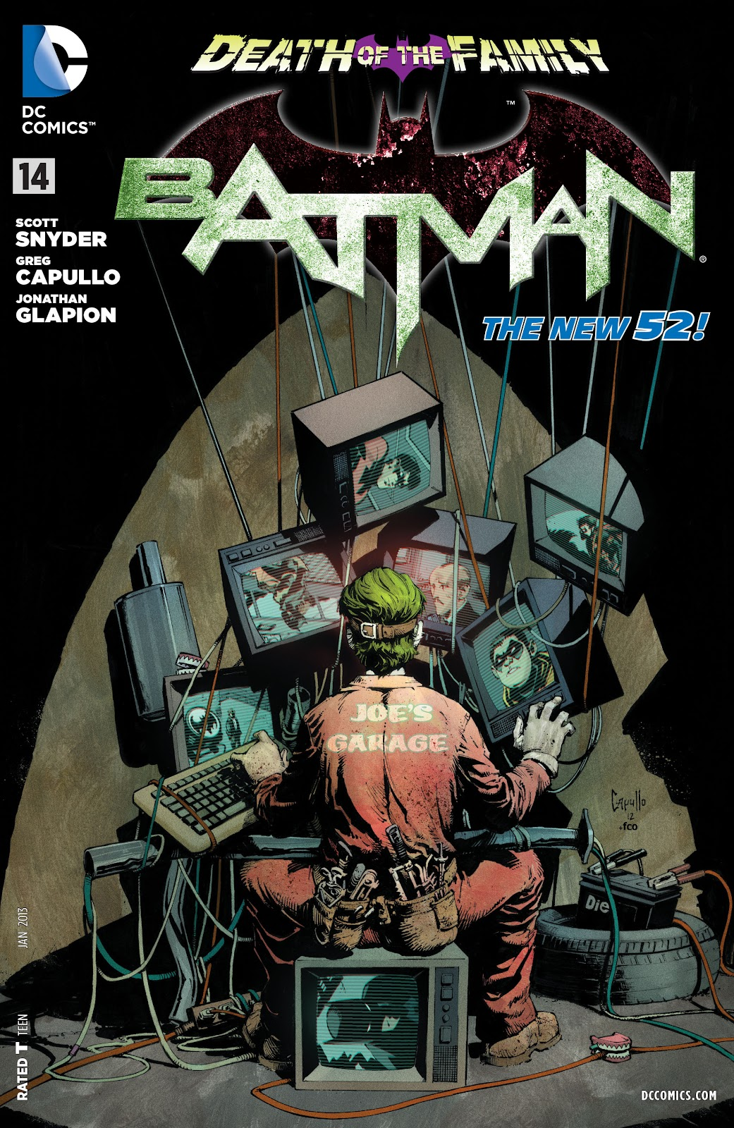 Batman (2011) Issue #14 #29 - English 1