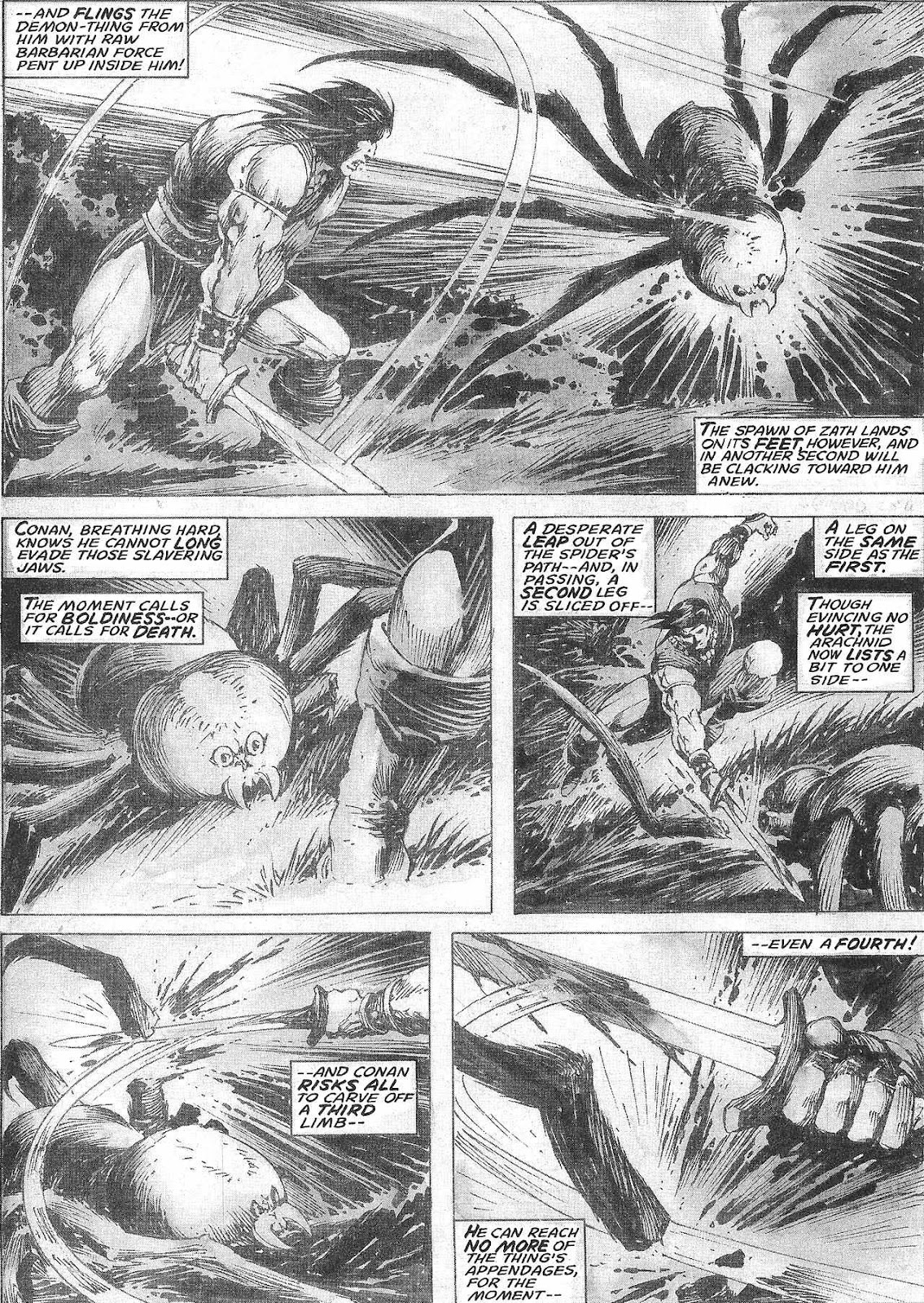 The Savage Sword Of Conan Issue #209 #210 - English 40