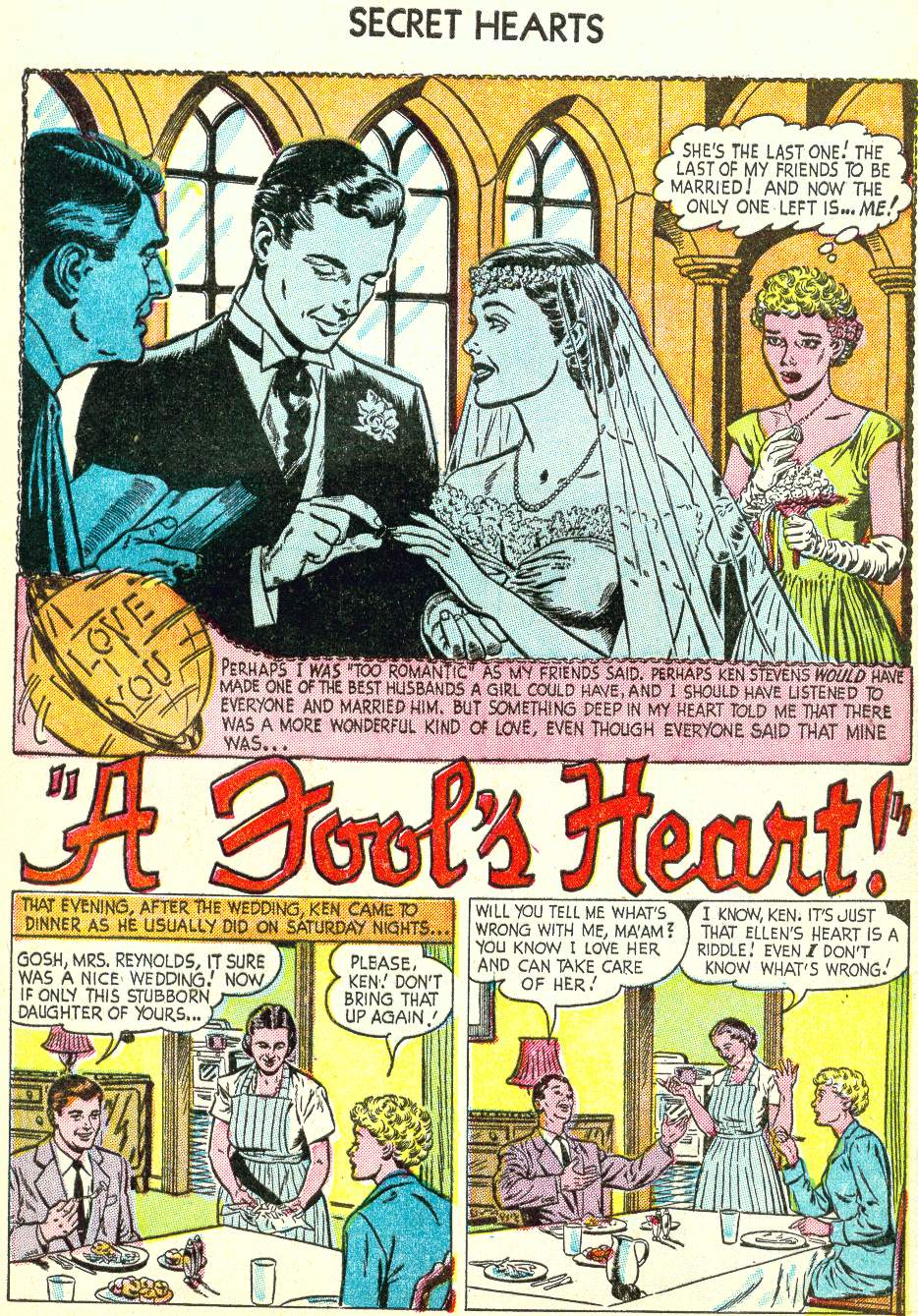 Read online Secret Hearts comic -  Issue #22 - 9