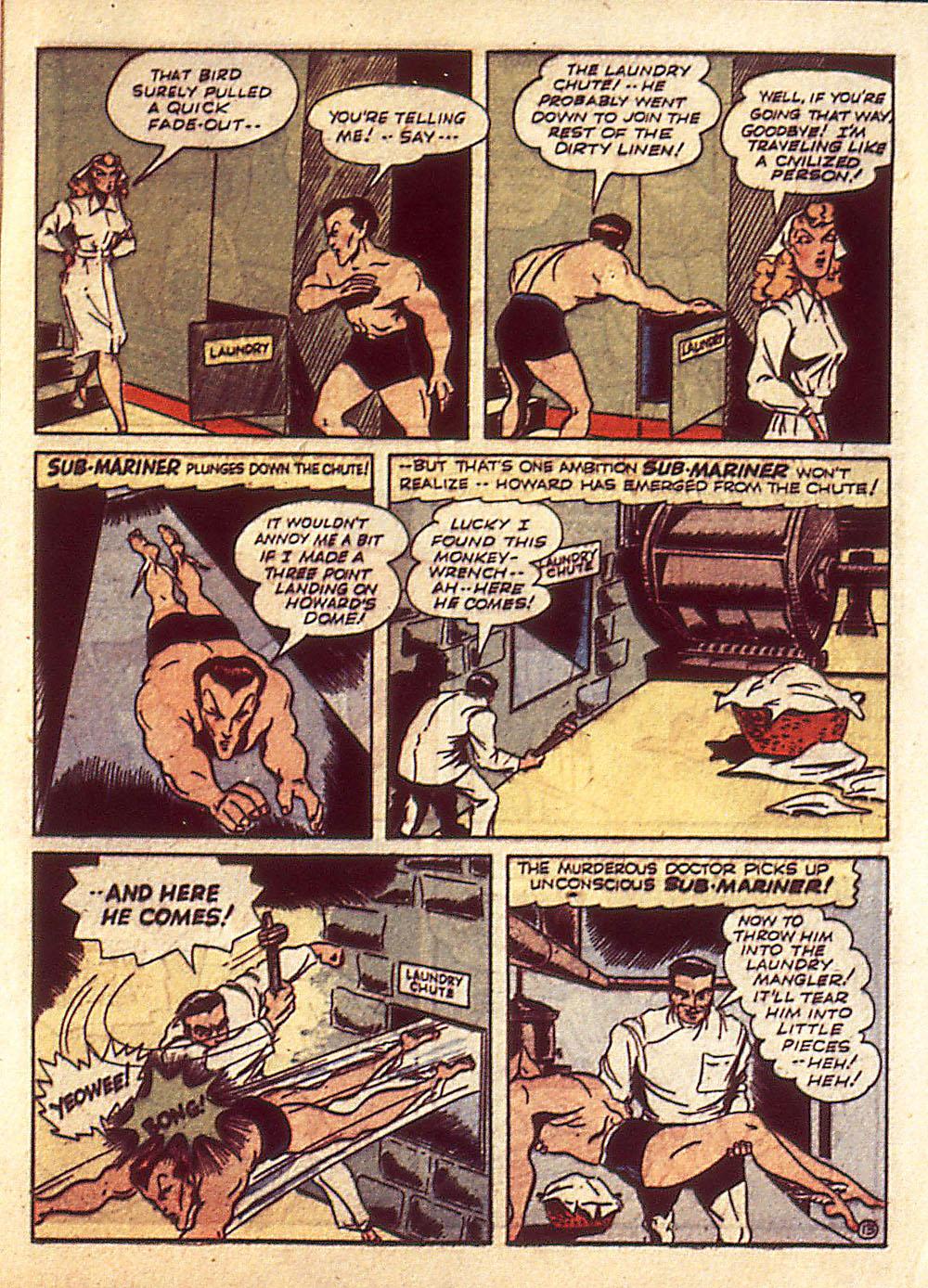 Sub-Mariner Comics Issue #4 #4 - English 16