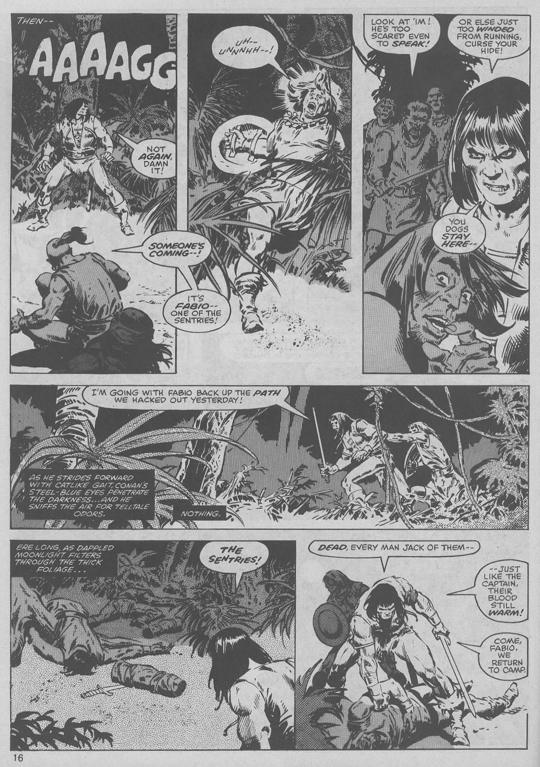 The Savage Sword Of Conan Issue #45 #46 - English 16