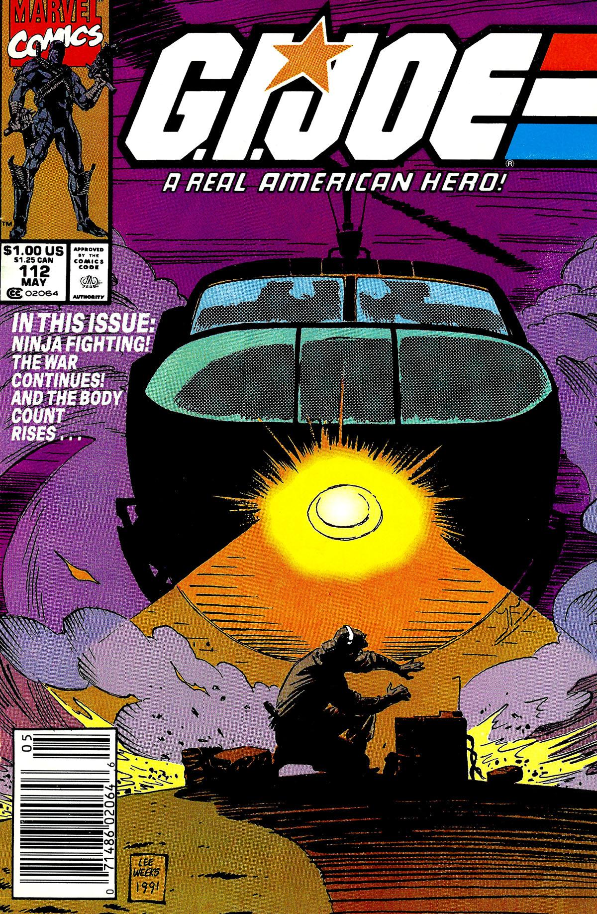 G.I. Joe: A Real American Hero 112 Page 1