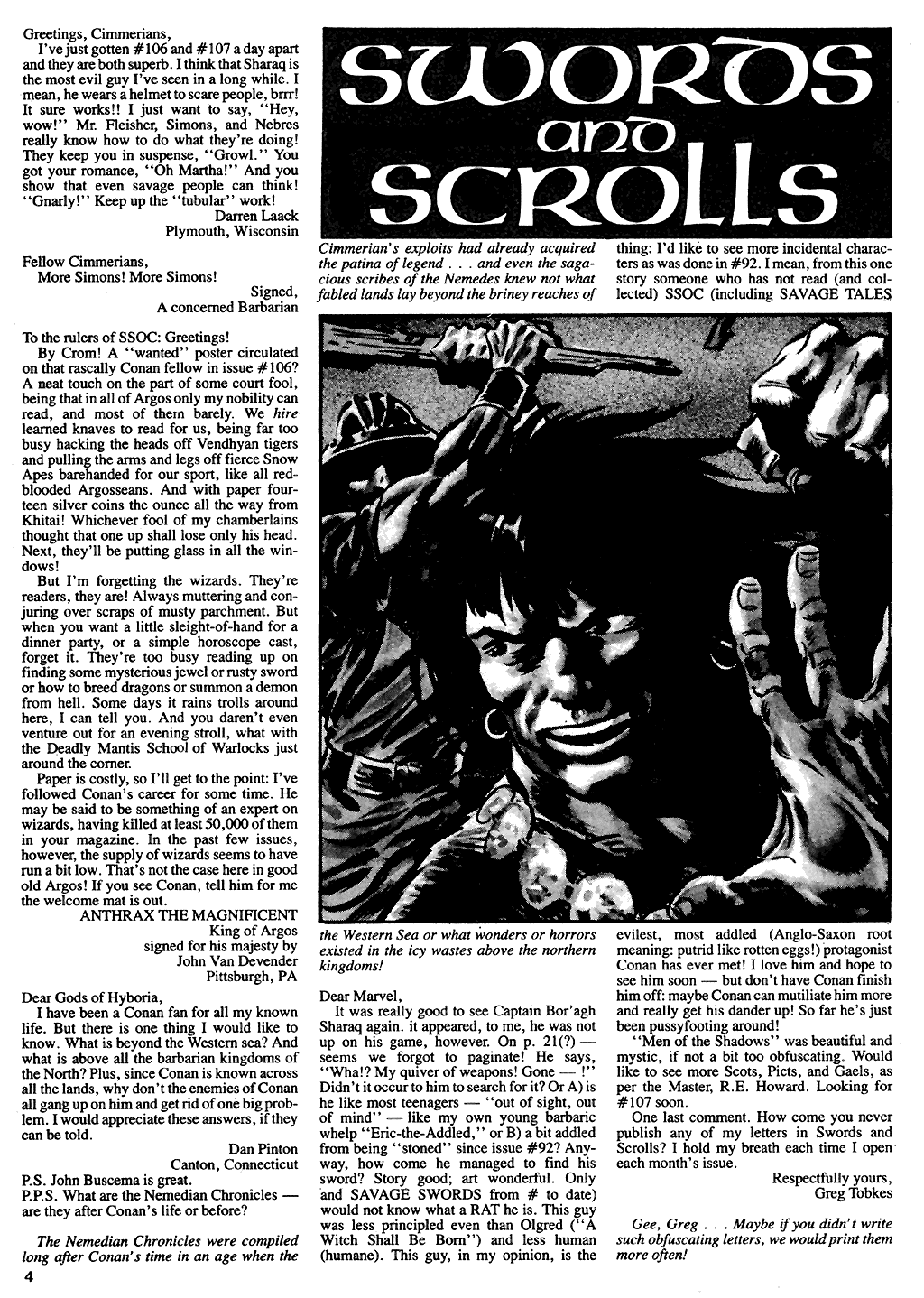 The Savage Sword Of Conan Issue #110 #111 - English 5