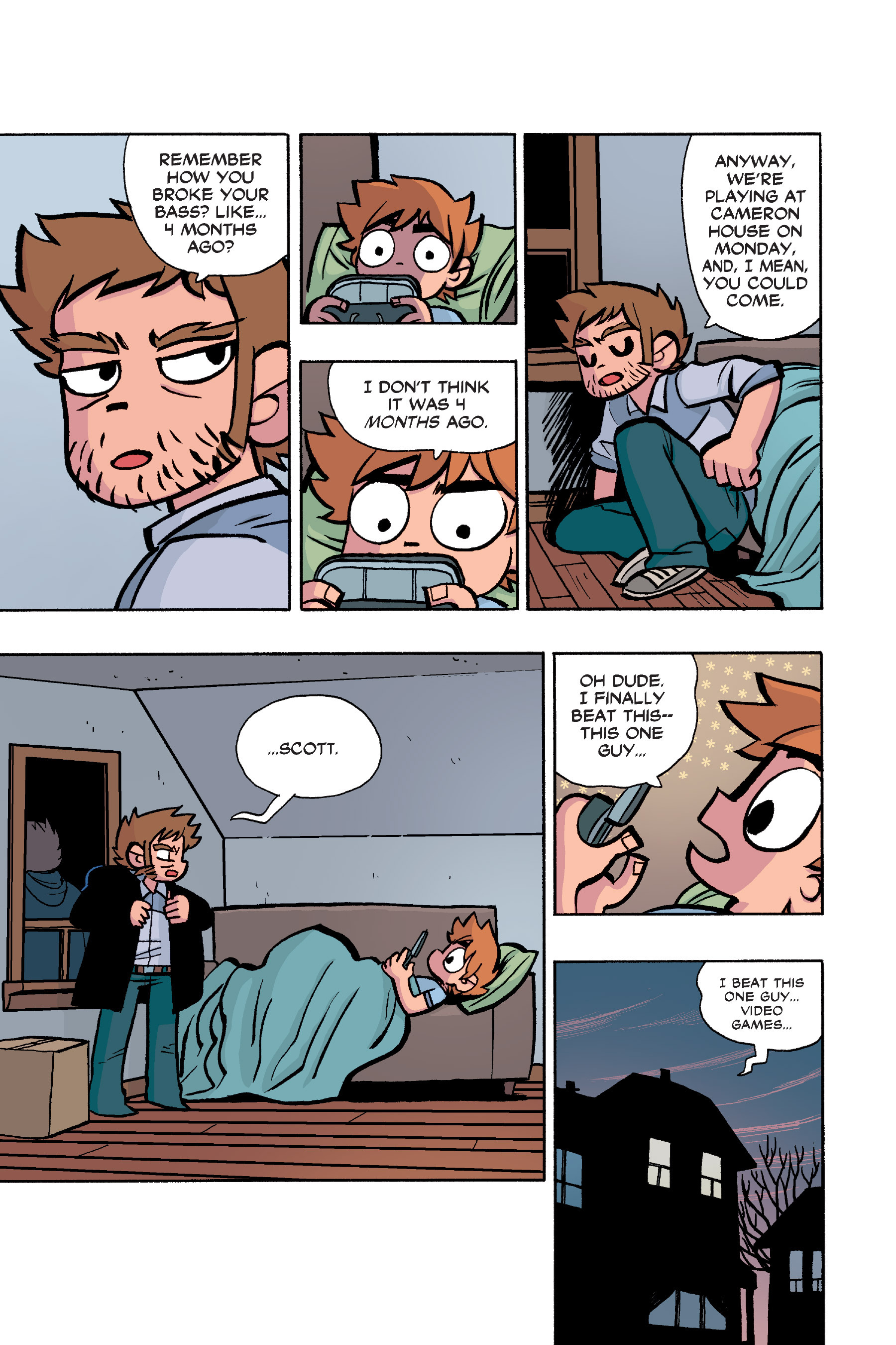 Read online Scott Pilgrim comic -  Issue #6 - 20