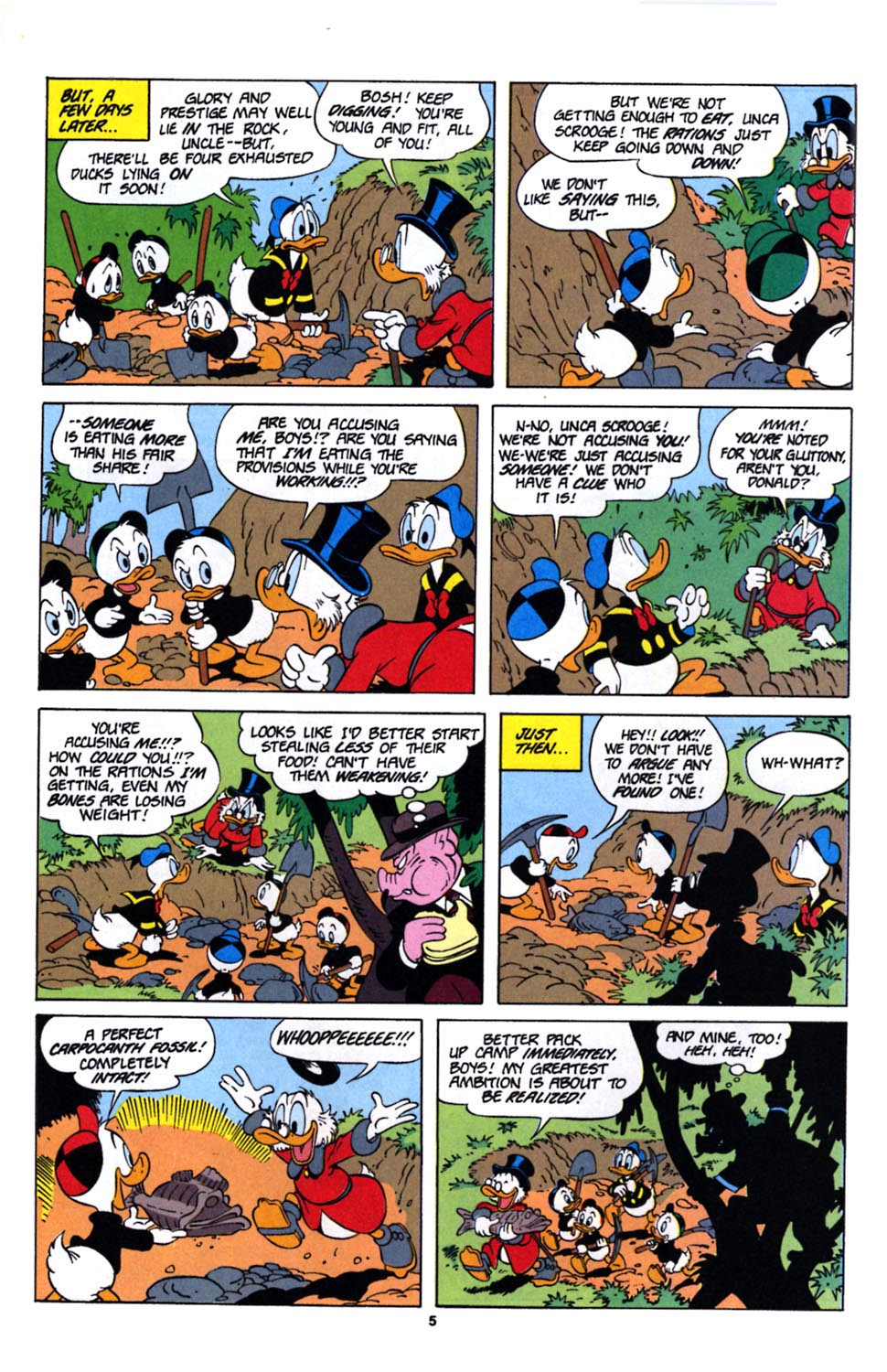 Uncle Scrooge (1953) Issue #243 #243 - English 21