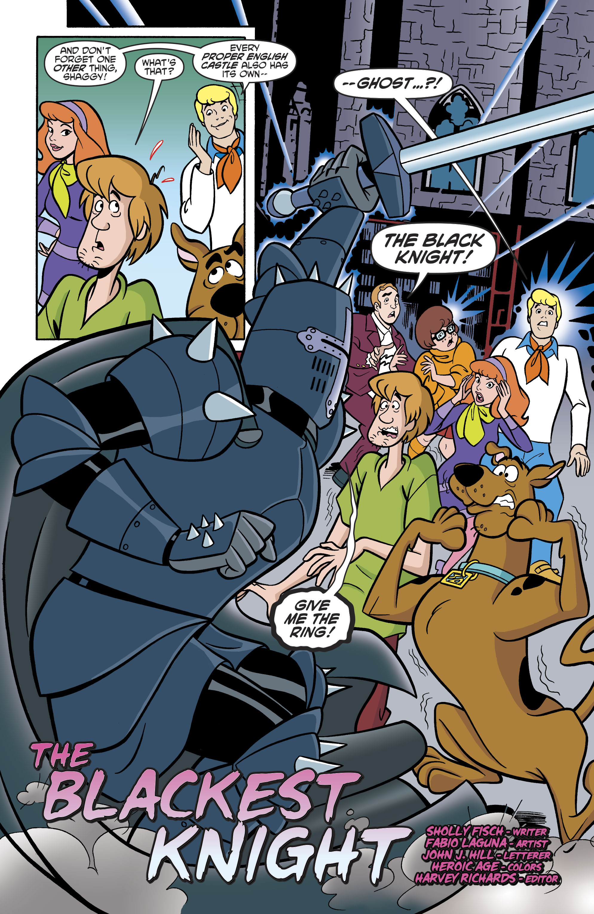 Read online Scooby-Doo: Where Are You? comic -  Issue #79 - 15