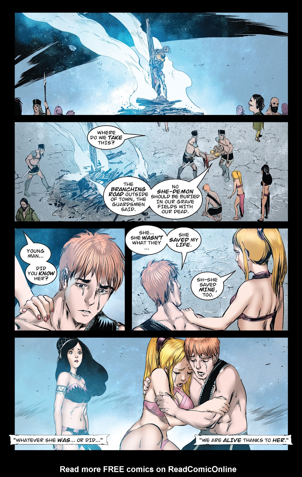 Queen of Vampires Issue #7 #7 - English 35