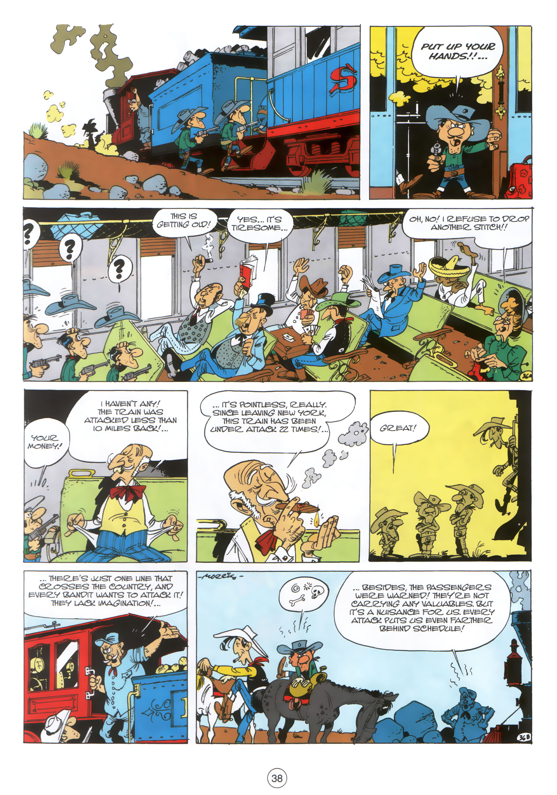 A Lucky Luke Adventure 30 Page 36