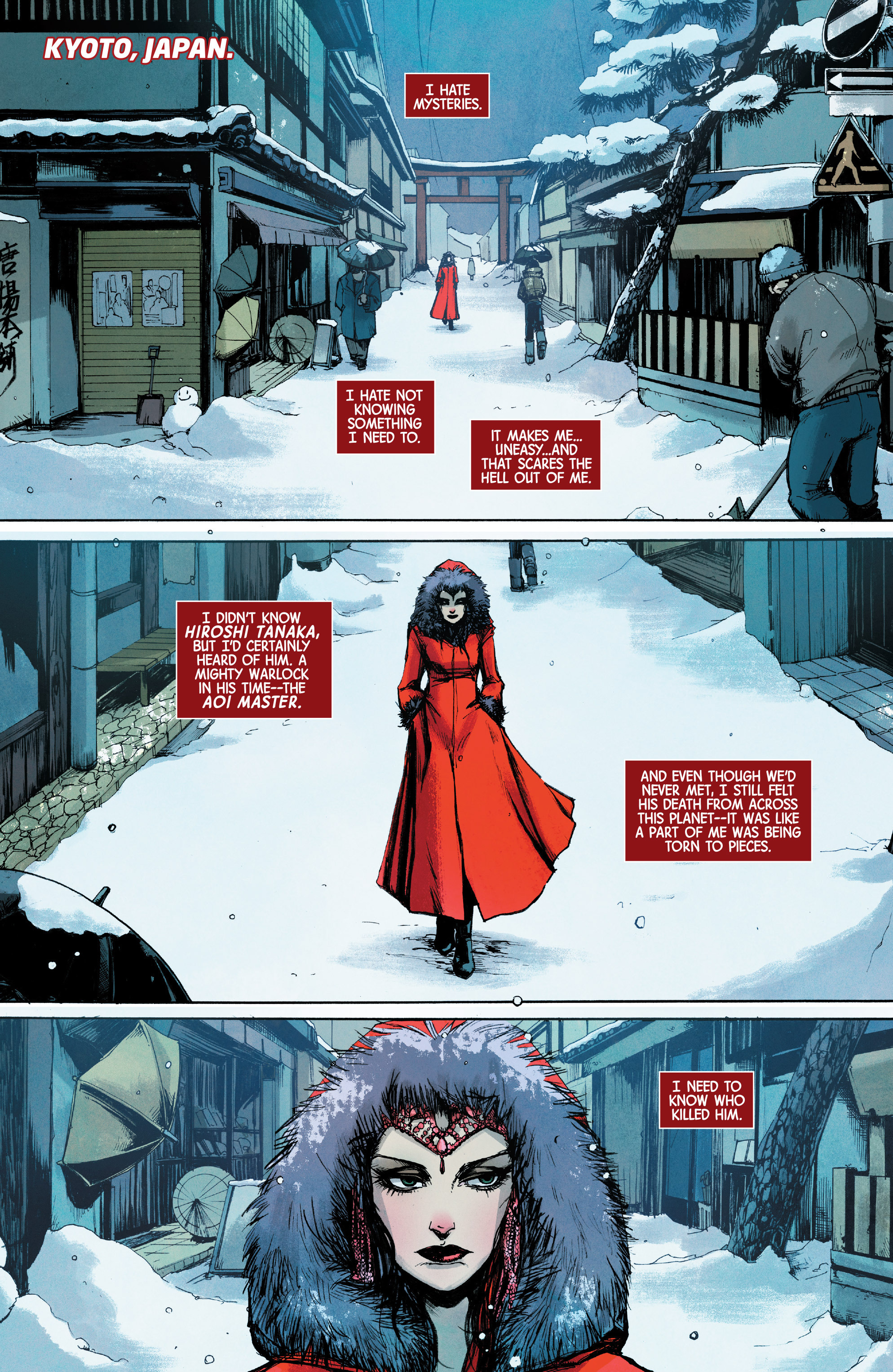 Read online Scarlet Witch (2016) comic -  Issue #10 - 5