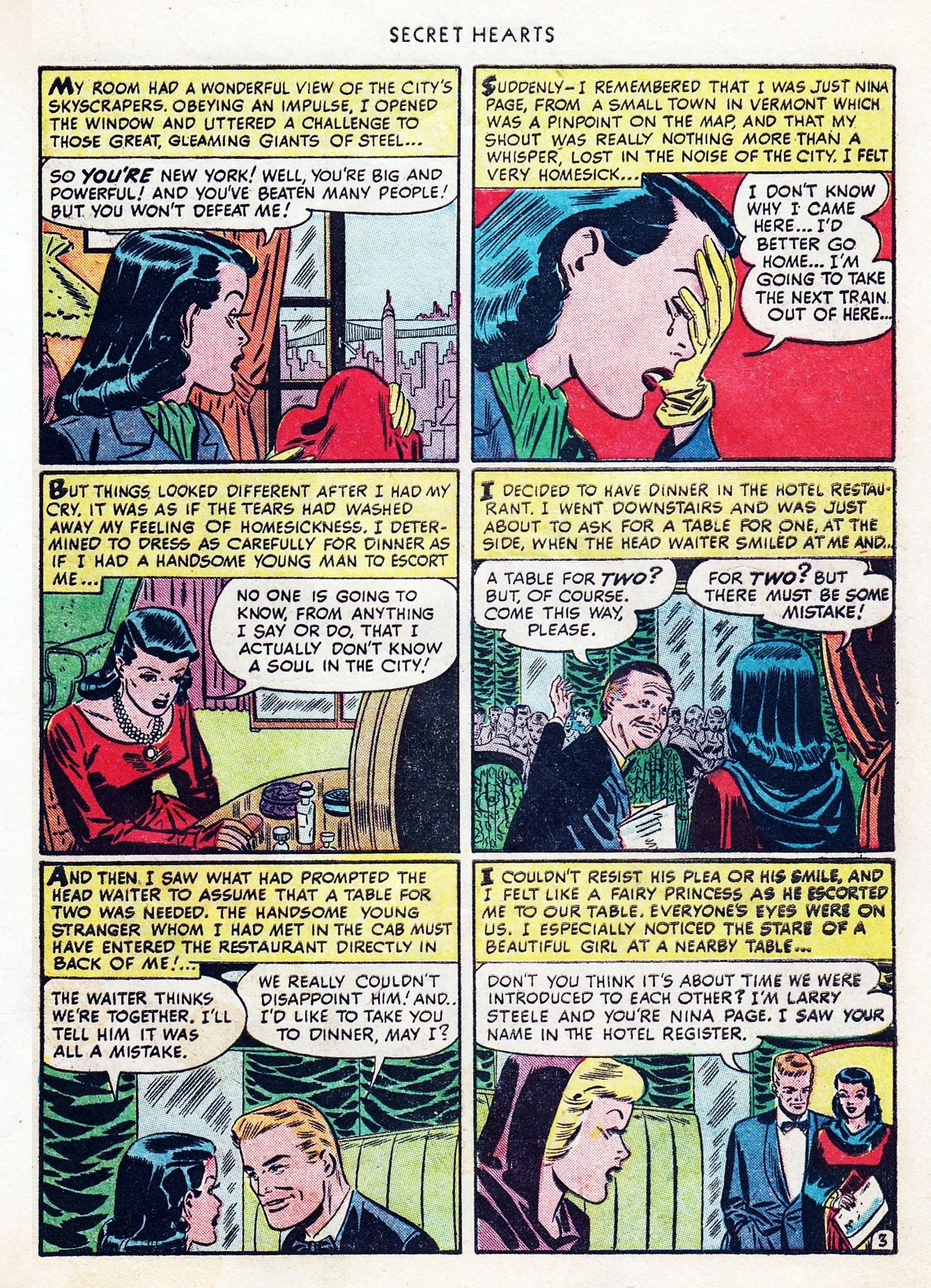 Read online Secret Hearts comic -  Issue #1 - 39