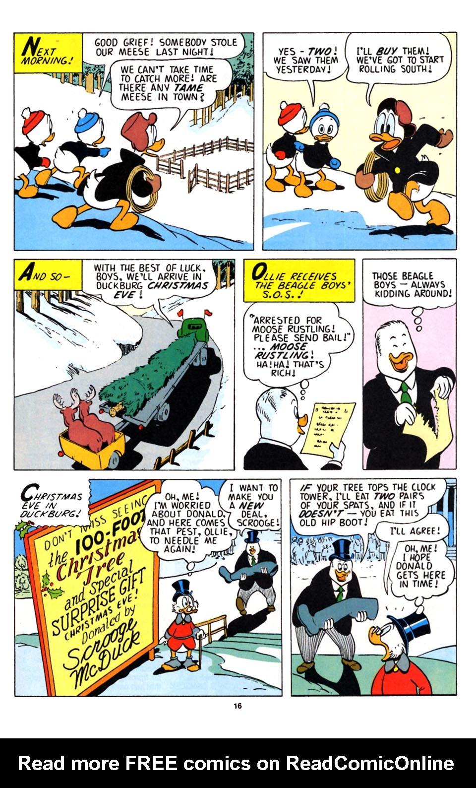 Uncle Scrooge (1953) Issue #251 #251 - English 17
