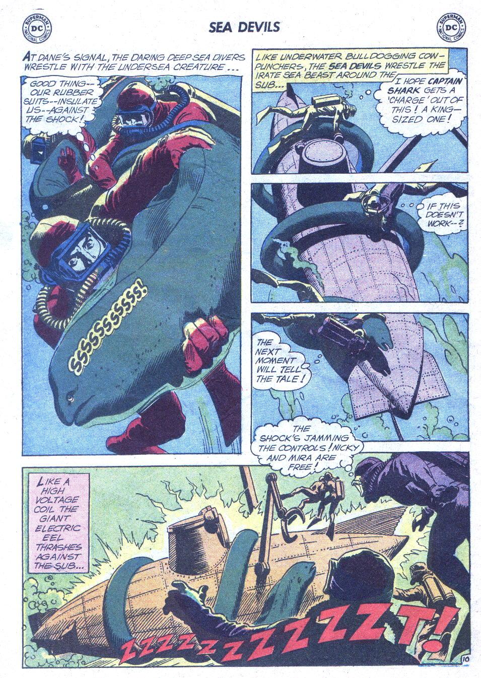 Read online Sea Devils comic -  Issue #1 - 31