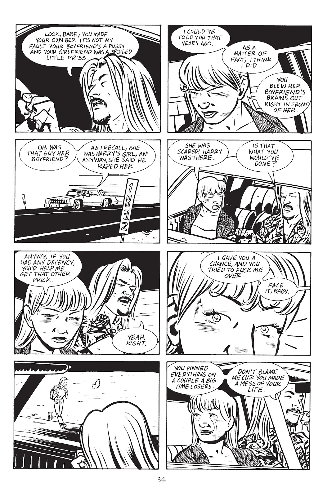 Stray Bullets Issue #14 #14 - English 36