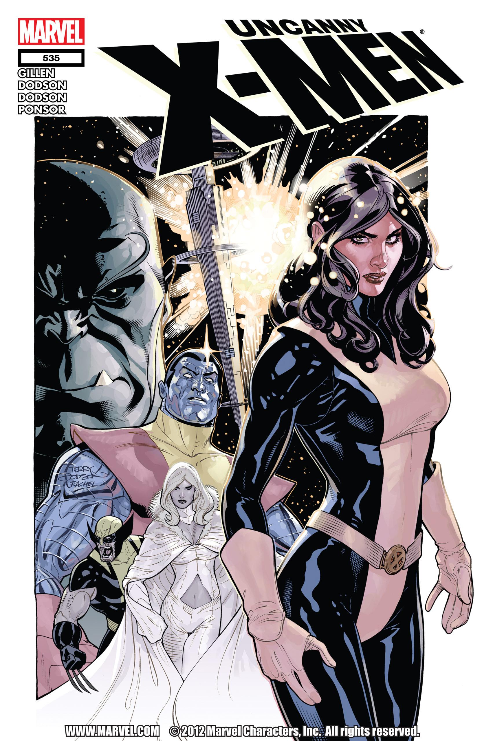 Uncanny X-Men (1963) 535 Page 1