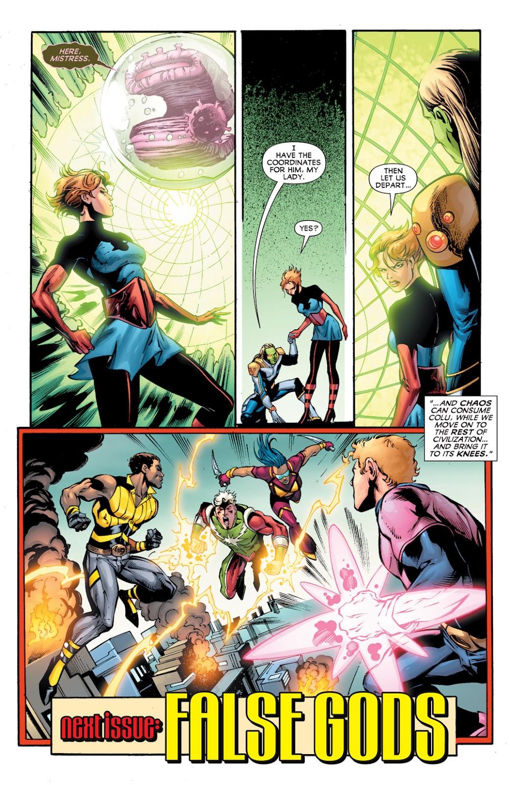 Legion of Super-Heroes (2010) Issue #12 #13 - English 21