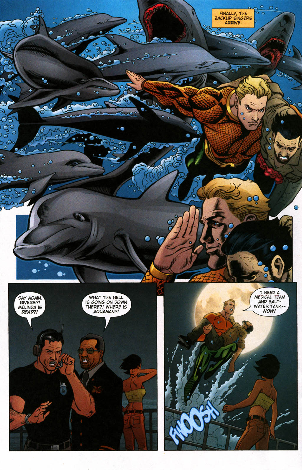 Aquaman (2003) Issue #24 #24 - English 10